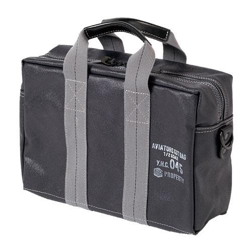 横濱帆布鞄 M18A14 Aviators Kit Bag 1/2 S NAVY