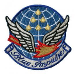 第11飛行隊ブルーインパルス部隊パッチ(ハイグレードレプリカ) ベルクロ