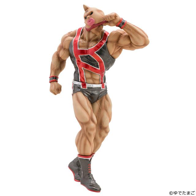 CCP Muscular Collection NO.EX キン肉マン フェイスフラッシュ 原作 ブラックメタリック