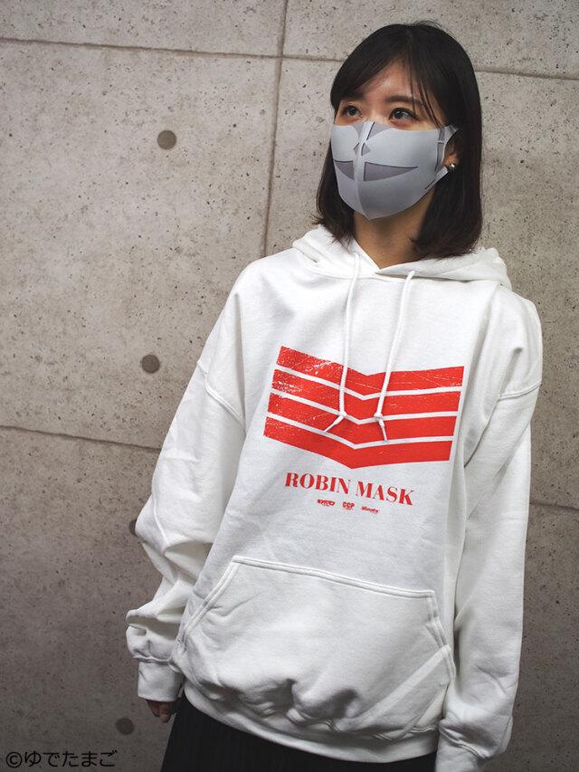 延藤洋品店 ロビンマスク ホワイトVer. エコノミー仕様【パーカー単体】