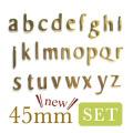 45mm小文字set