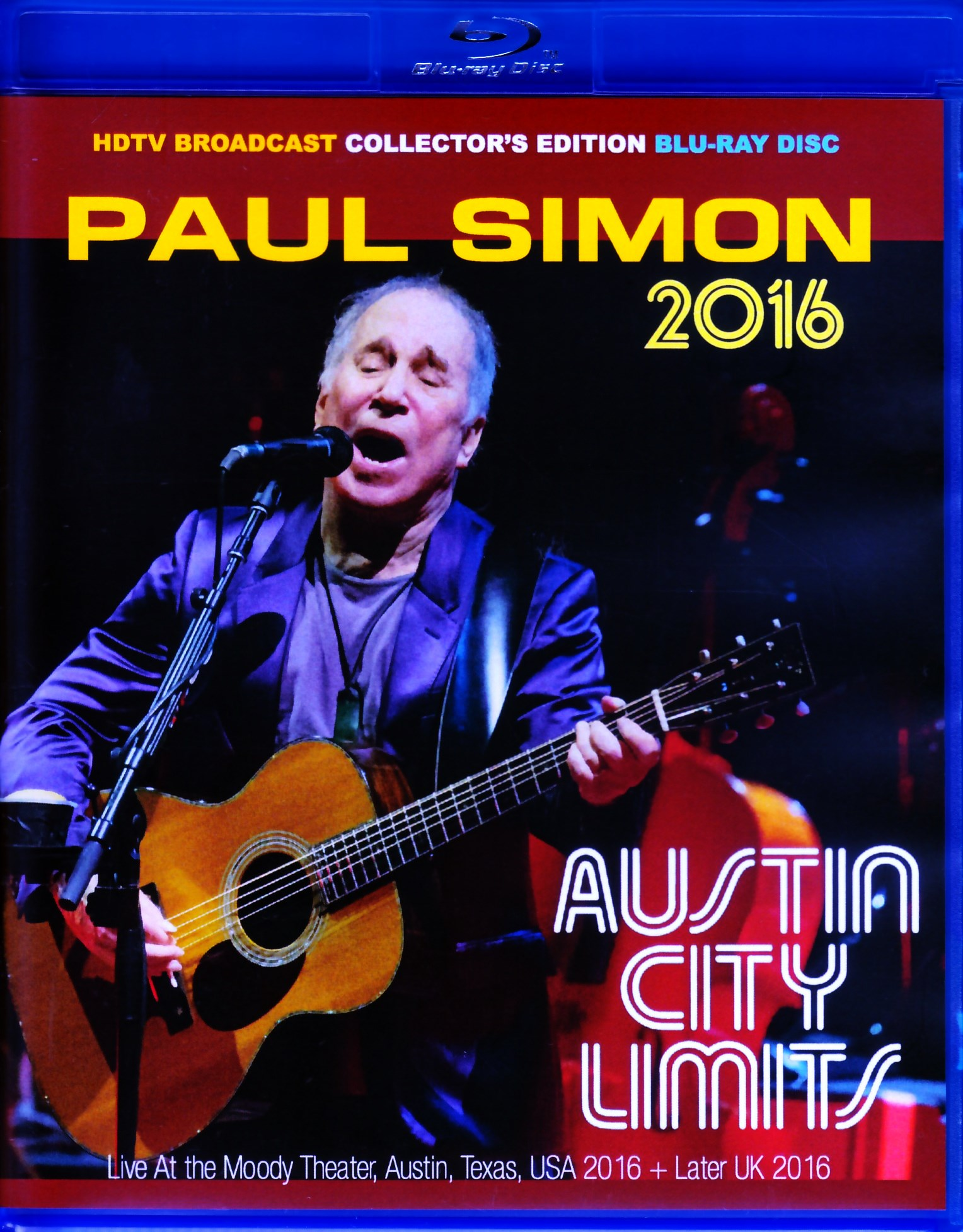 Paul Simon ポール・サイモン/TX,USA 2016 & more BRD