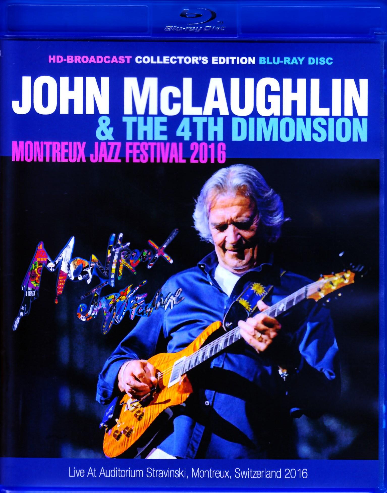 John McLaughlin ジョン・マクラフリン/Switzerland 2016 BRD