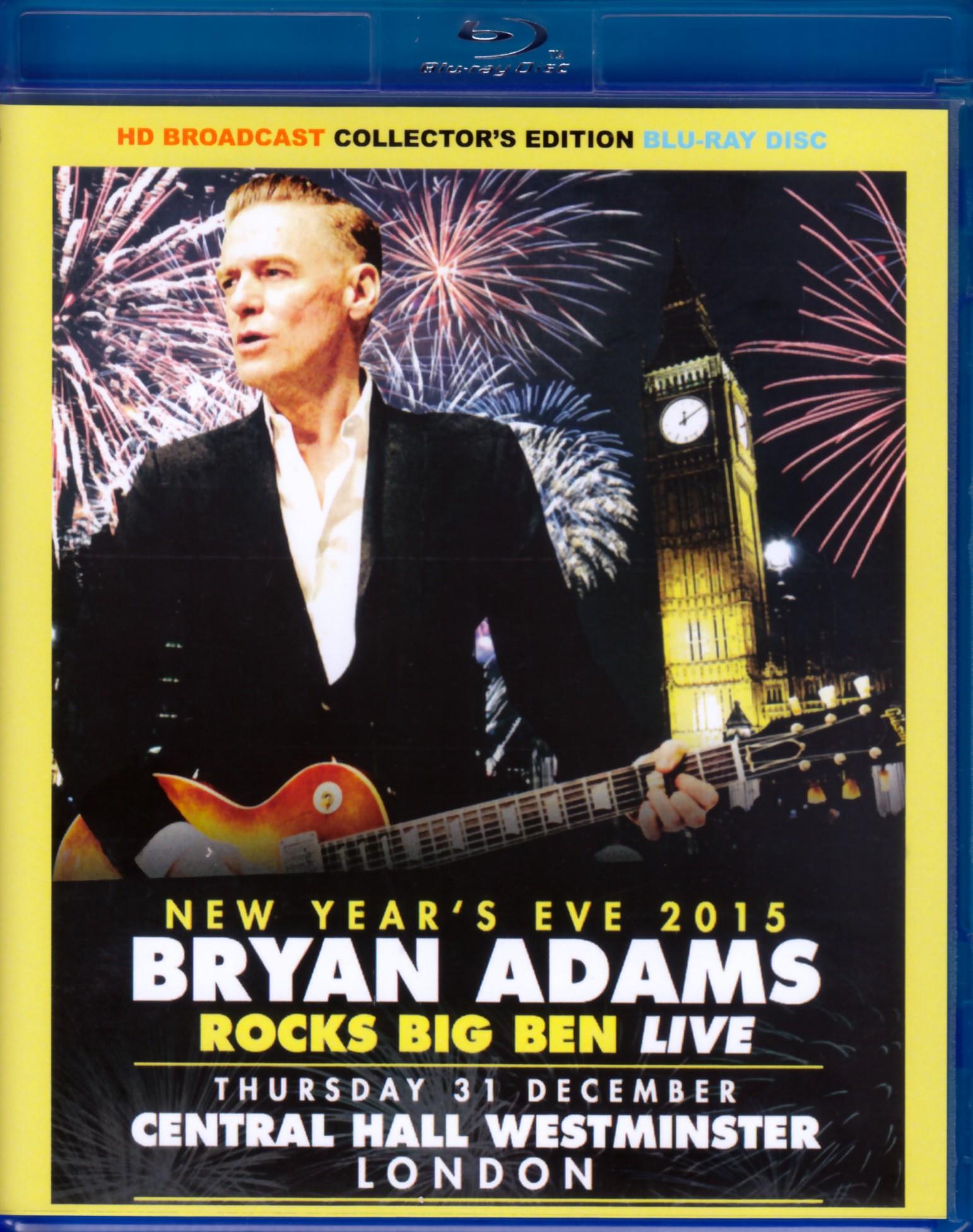 Bryan Adams ブライアン・アダムス/London,UK 2015 Blu-Ray Ver