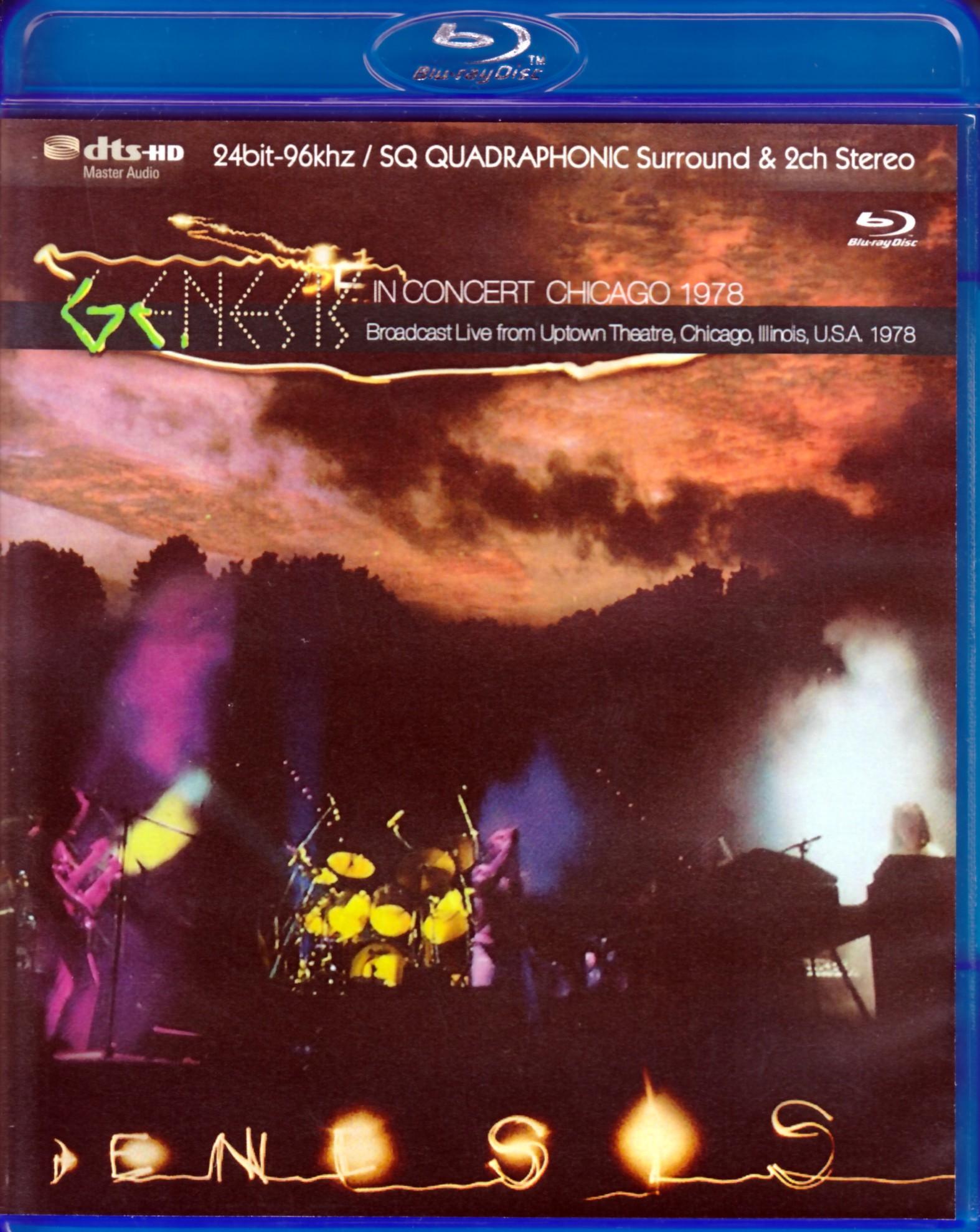 Genesis ジェネシス/Illinois,USA 1978 Blu-Ray Version