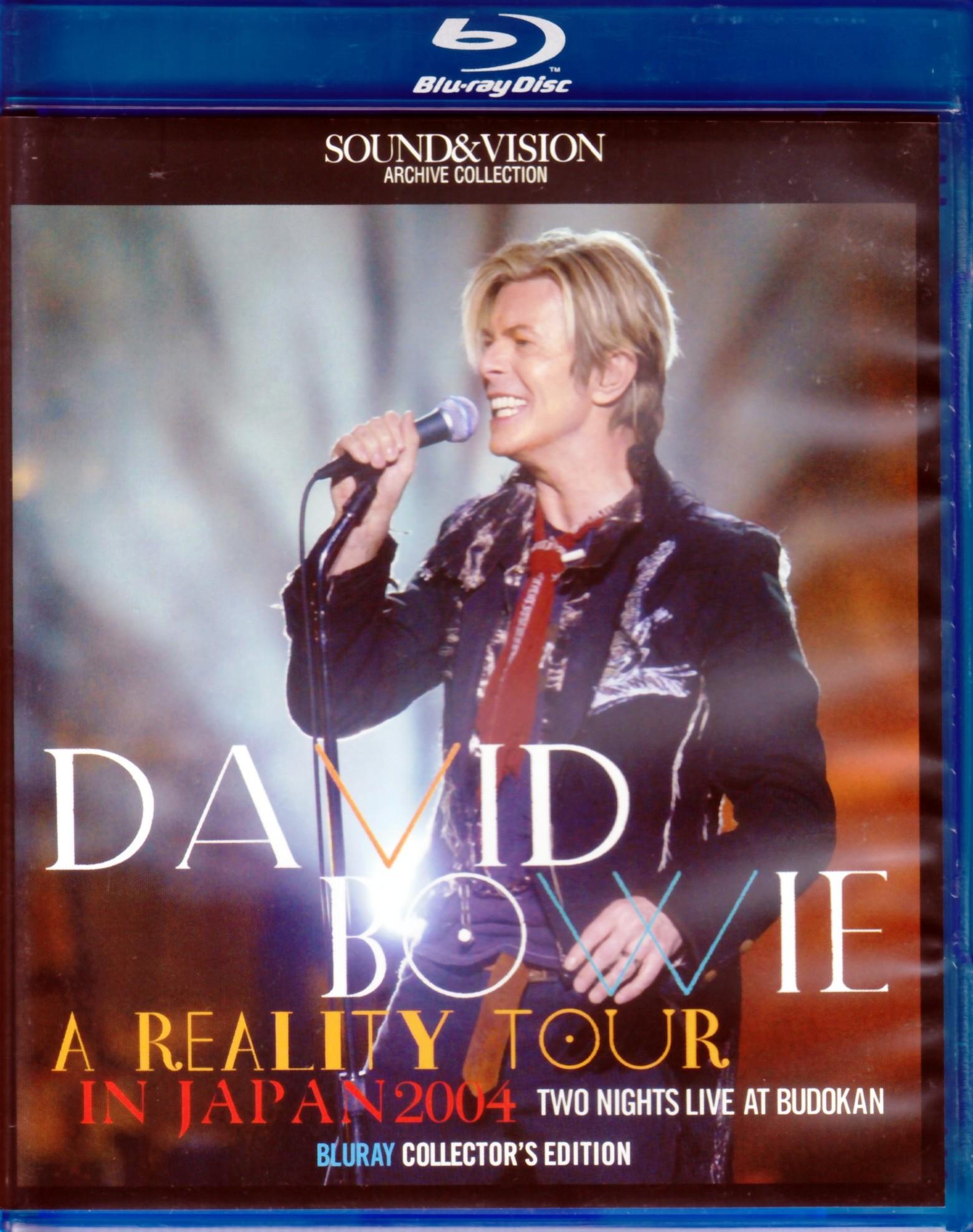 David Bowie デヴィッド・ボウイ/Tokyo,Japan 2004 2Days Blu-Ray Version