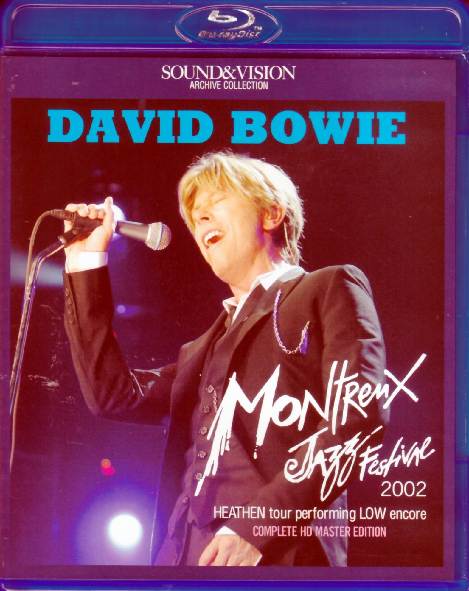 David Bowie デヴィッド・ボウイ/Switerland 2002 Blu-Ray Version
