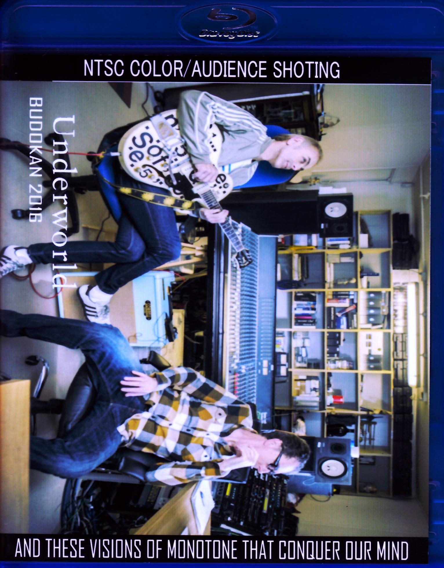 Underworld アンダーワールド/Tokyo,Japan 2016 DVD & Blu-Ray