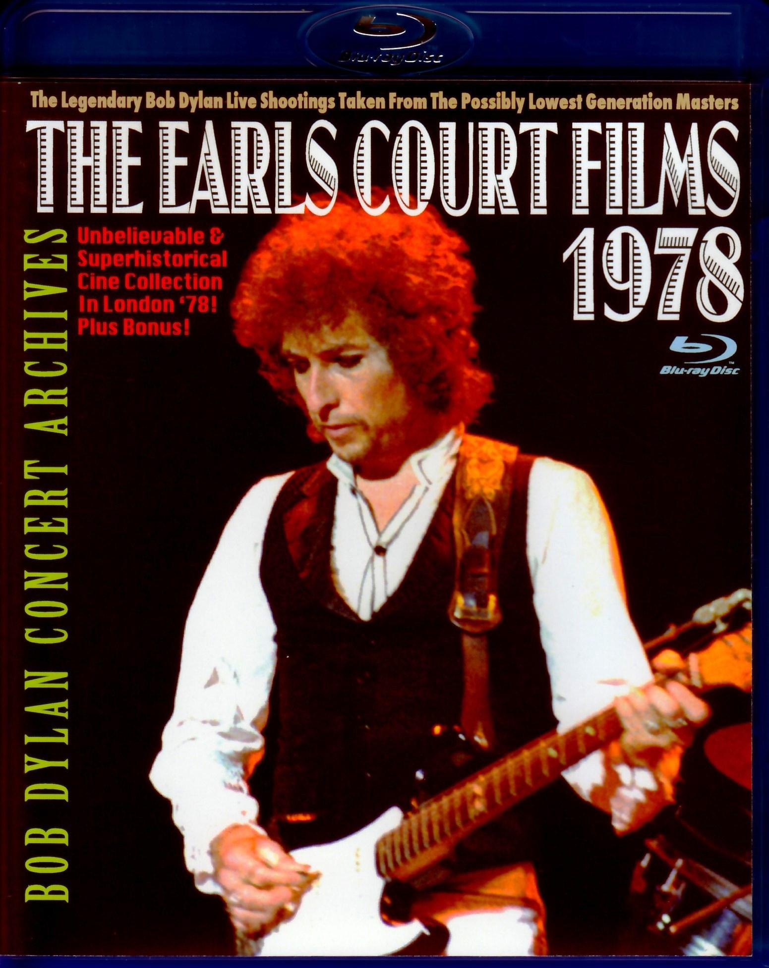 Bob Dylan ボブ・ディラン/London,UK 1978 & more Blu-Ray Ver.