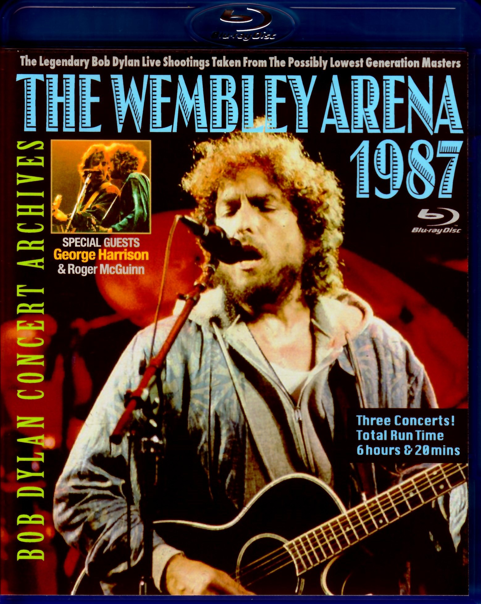 Bob Dylan ボブ・ディラン/London,UK 1987 3Days Blu-Ray Ver.