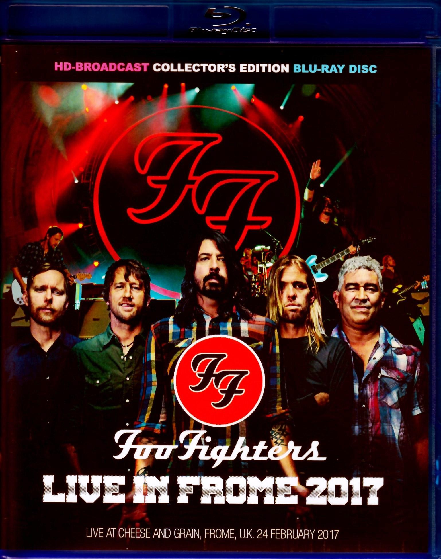 Foo Fighters フー・ファイターズ/UK 2017 Blu-Ray Ver.