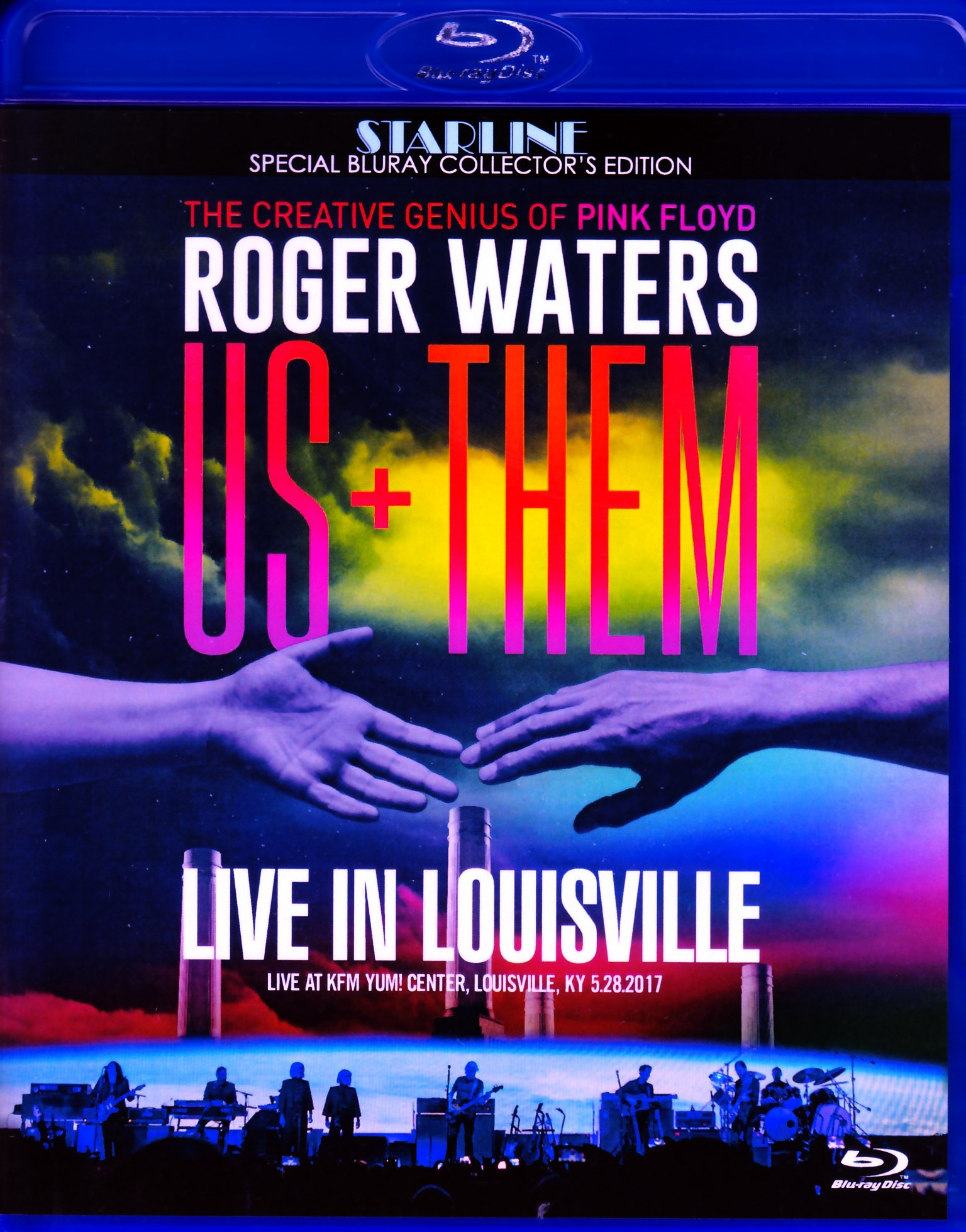 Roger Waters ロジャー・ウォータージ/KY,USA 2017 Blu-Ray Ver.