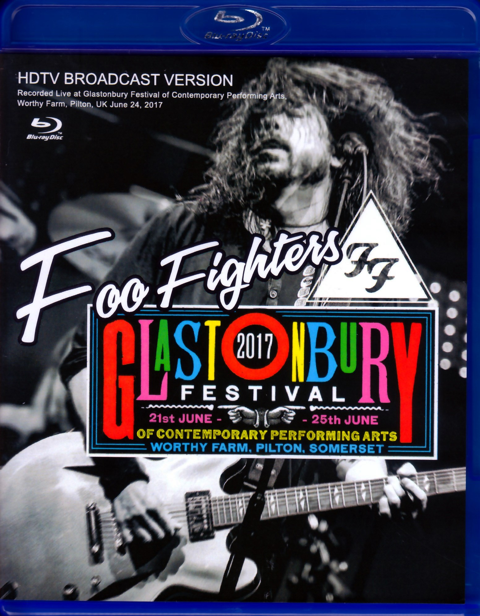 Foo Fighters フー・ファイターズ/England,UK 2017 Blu-Ray Ver.