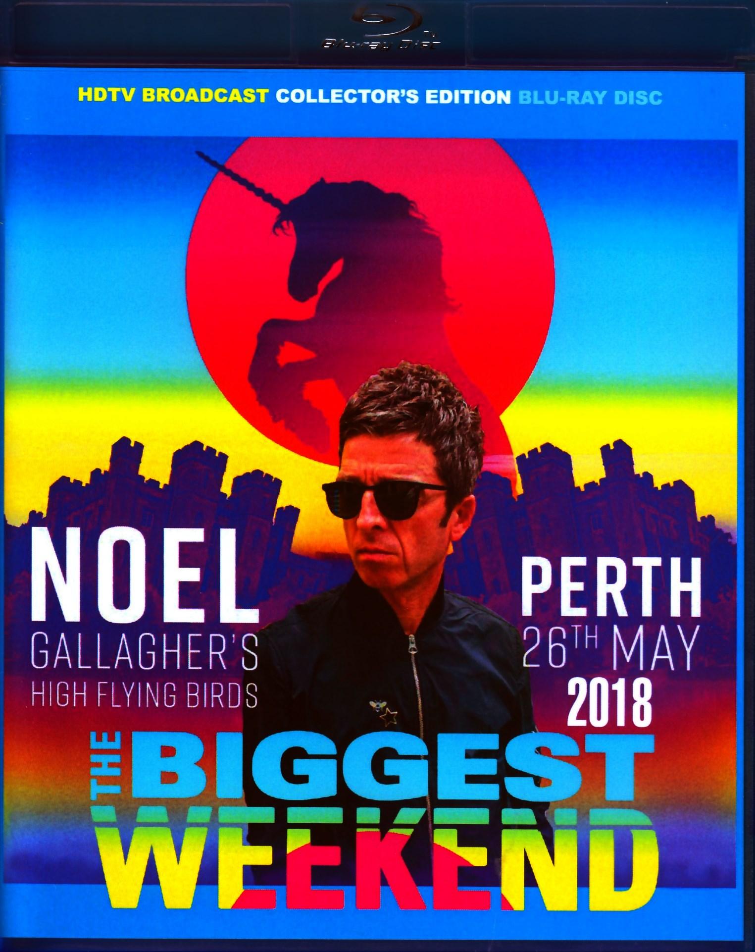 Noel Gallagher ノエル・ギャラガー/Scotland,UK 2018 Blu-Ray Ver.