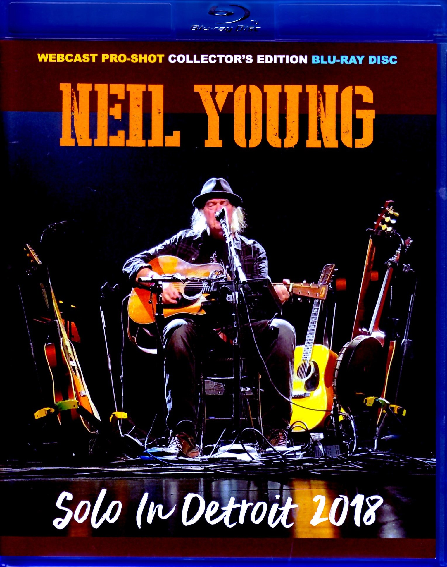 Neil Young ニール・ヤング/MI,USA 2018 Blu-Ray Ver.