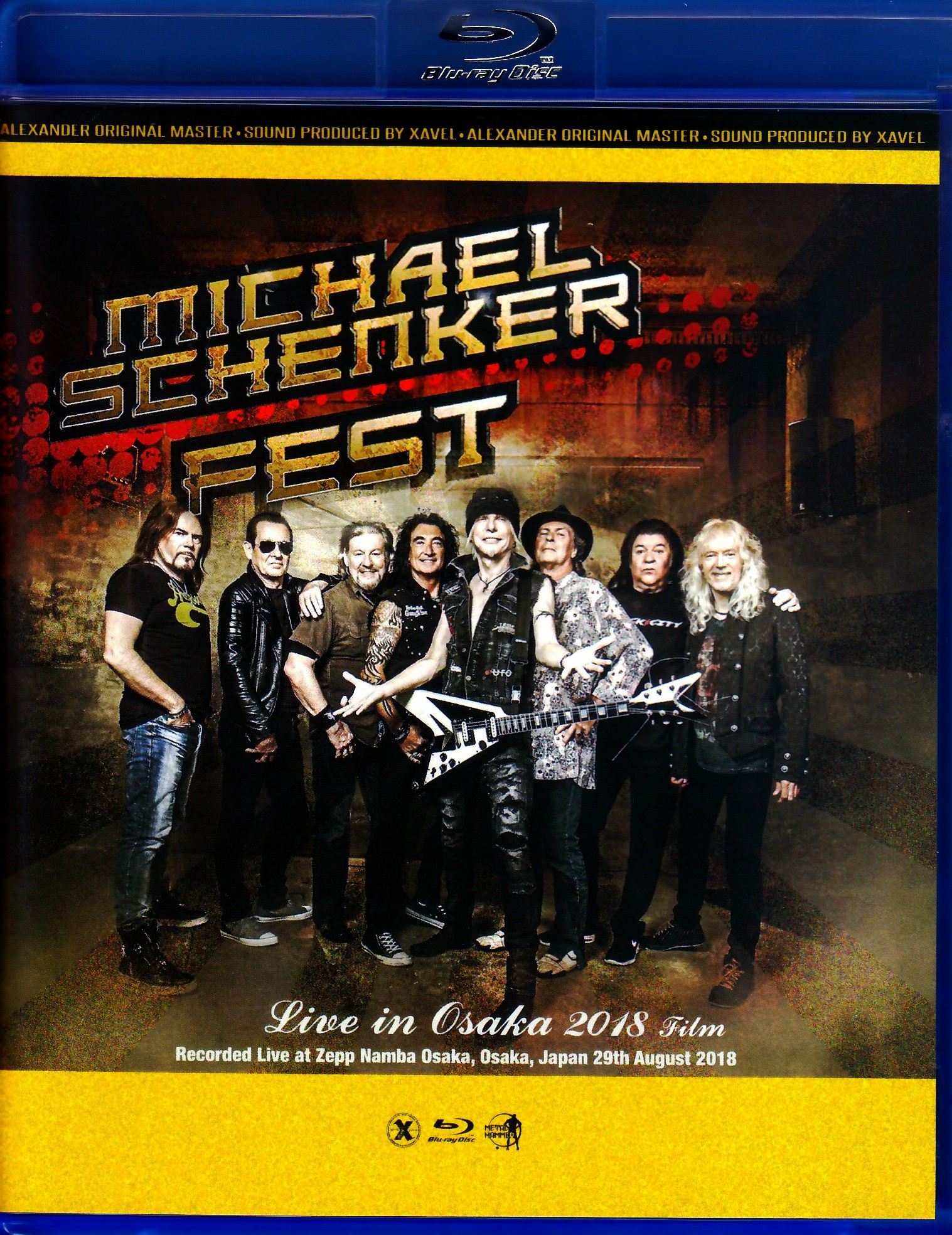 Michael Schenker Fest マイケル・シェンカー/Osaka,Japan 2018 Blu-Ray Ver.