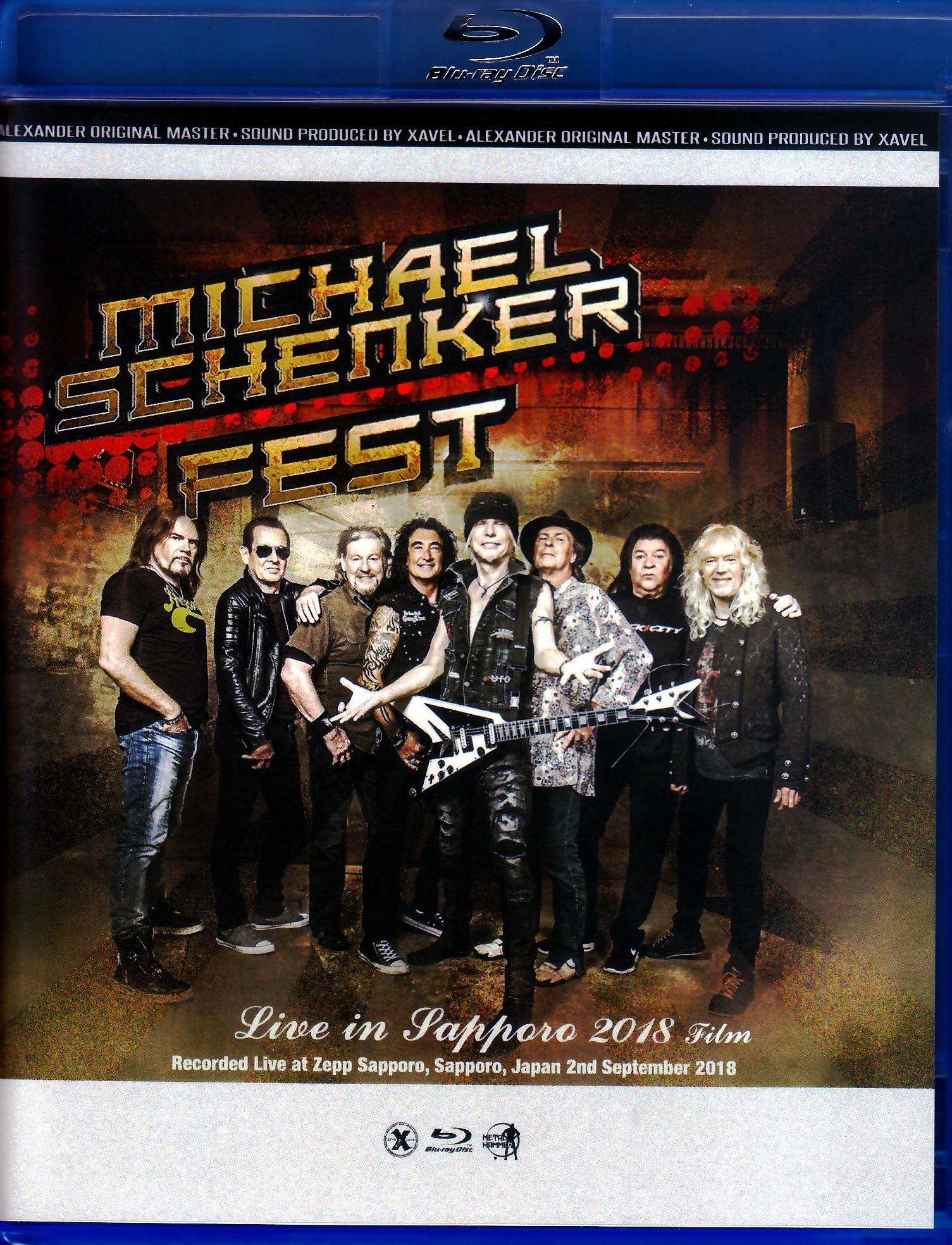Michael Schenker Fest マイケル・シェンカー/Sapporo,Japan 2018 Blu-Ray Ver.
