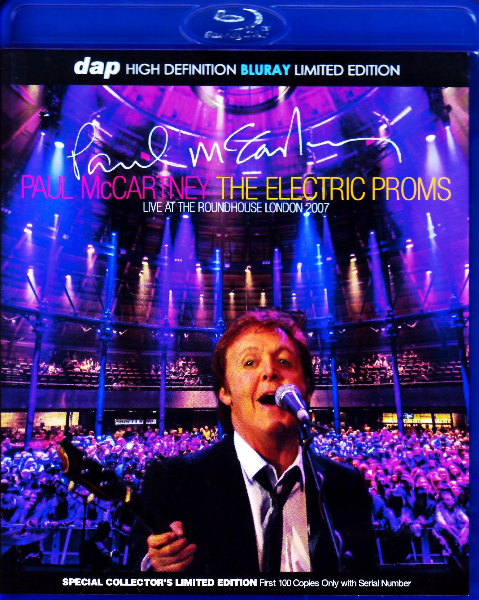 Paul McCartney ポール・マッカートニー/London,UK 2007 Blu-Ray Ver.