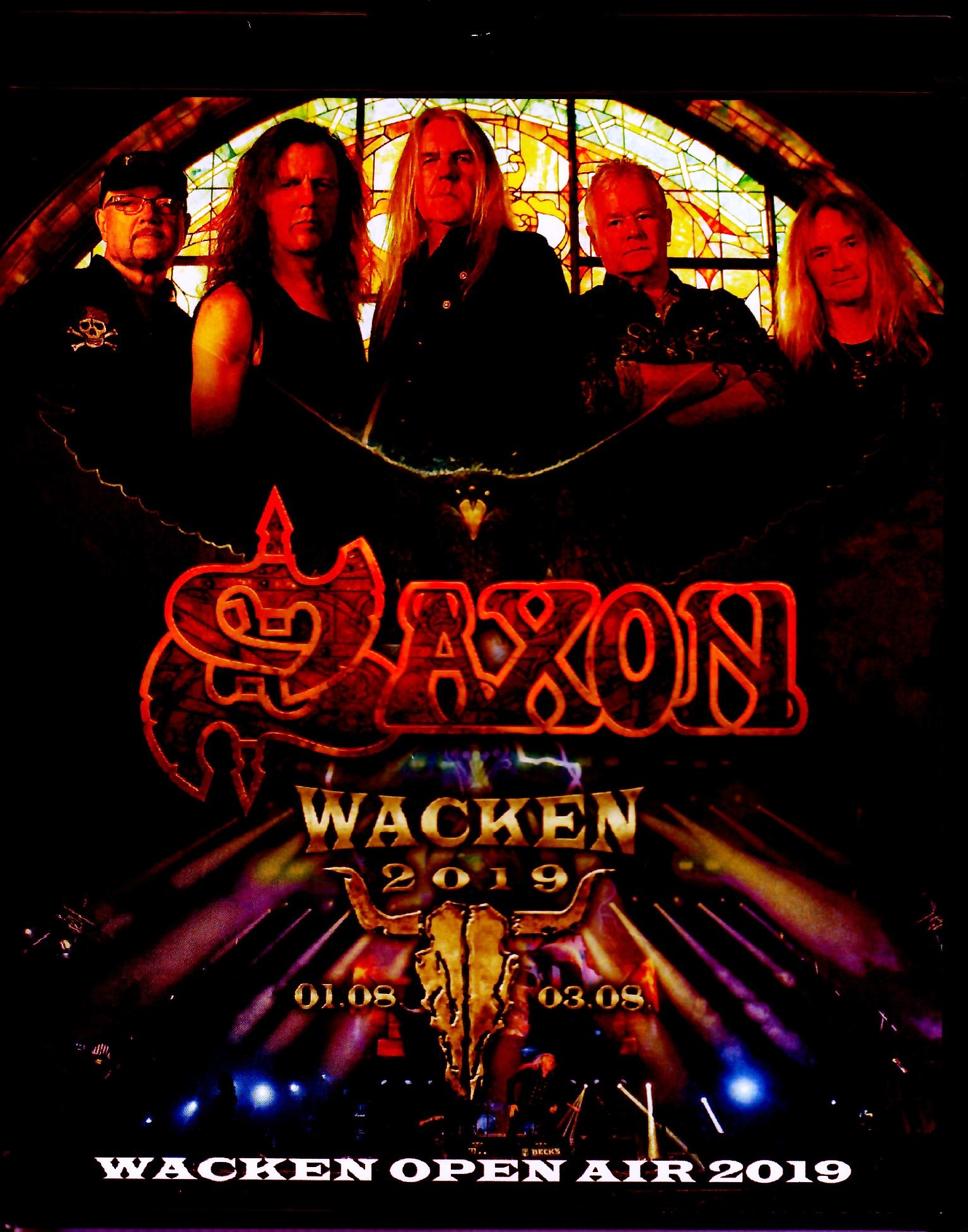 Saxon サクソン/Germany 2019 Blu-Ray Ver.
