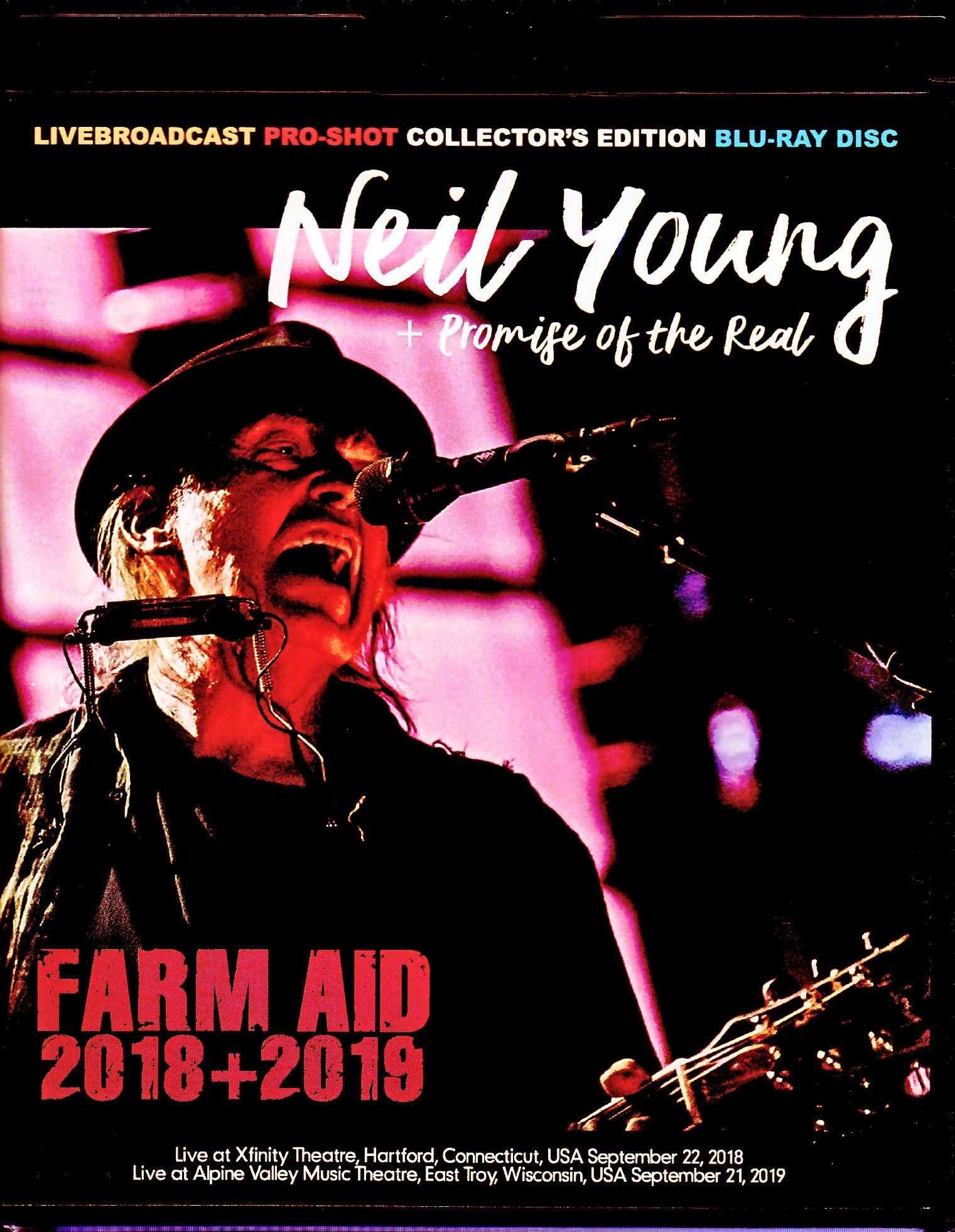 Neil Young + Promise pf the Real ニール・ヤング/WI,USA 2019 & 2018 Blu-Ray Ver.