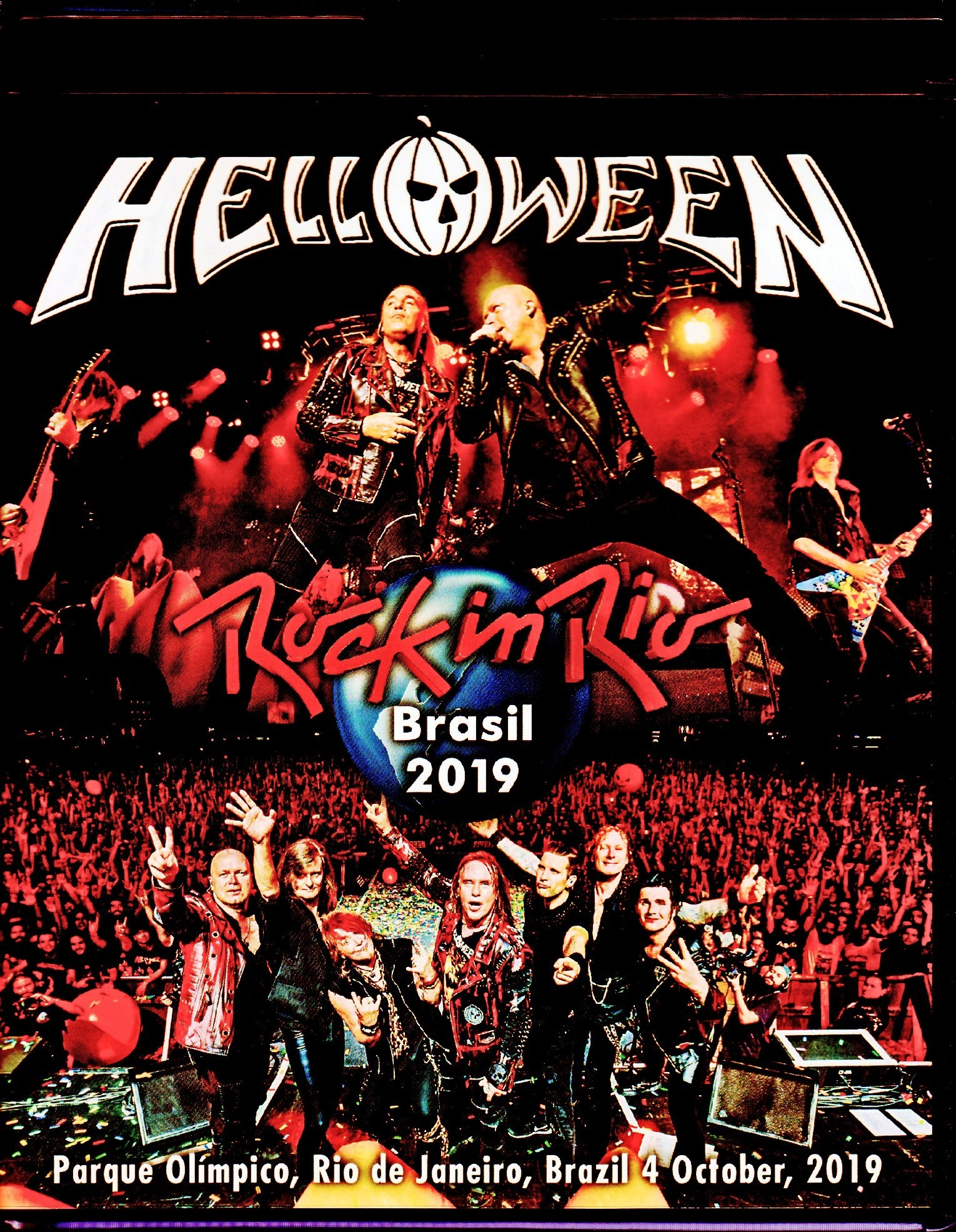Helloween ハロウィン/Brazil 2019 & more Blu-Ray Ver.