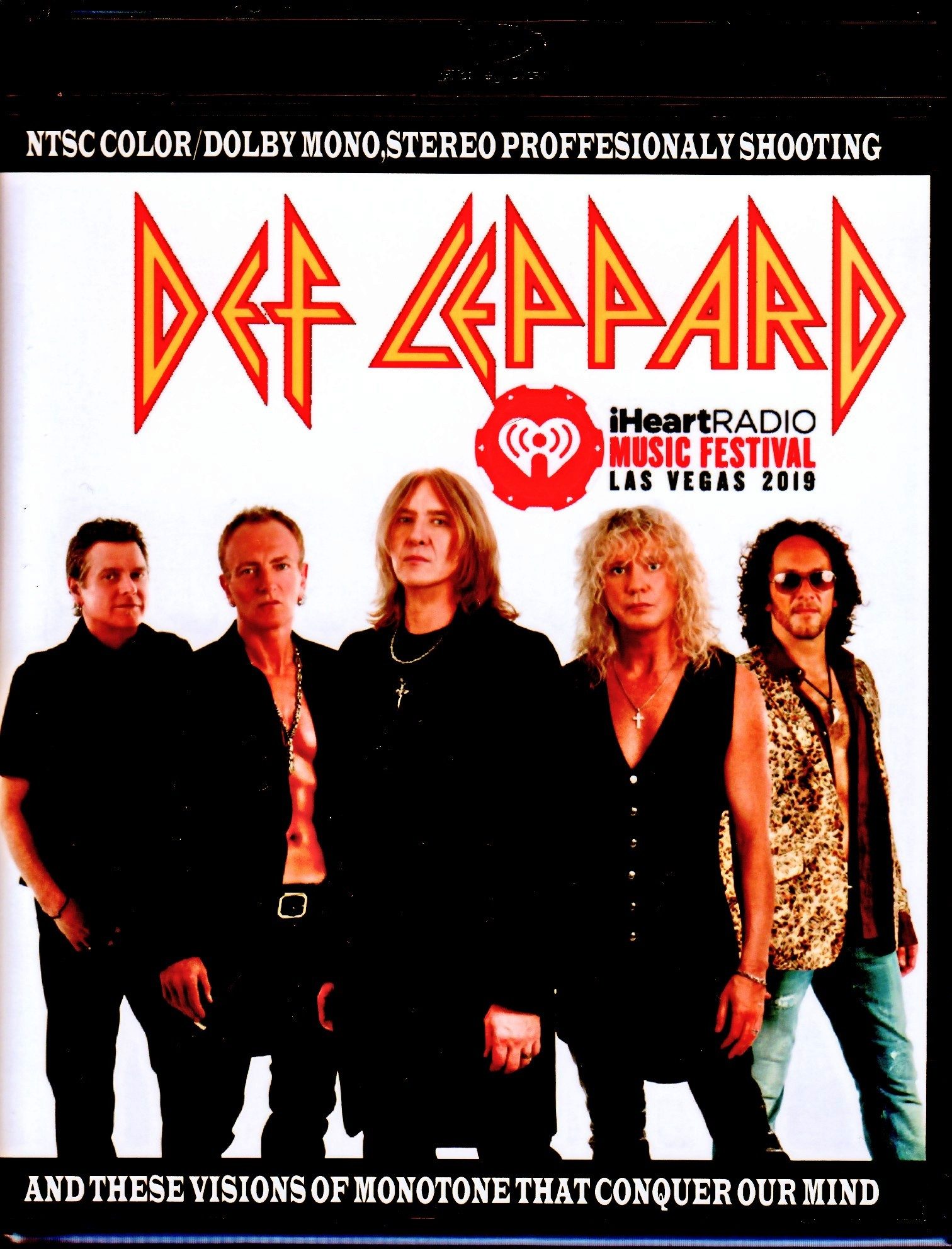 Def Leppard デフ・レパード/NV,USA 2019 & more Blu-Ray Ver.