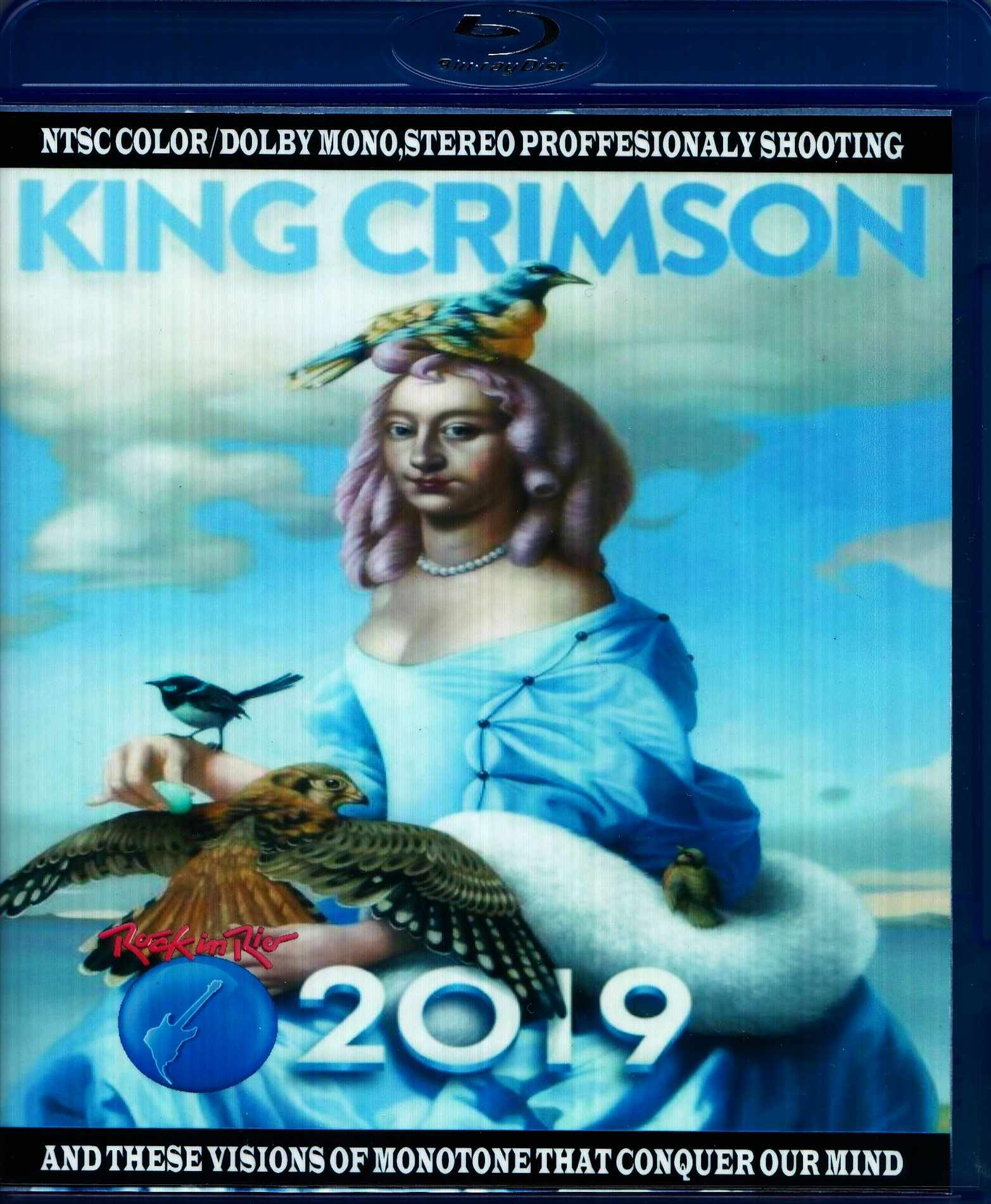King Crimson キング・クリムゾン/Brazil 2019 Blu-Ray Ver.