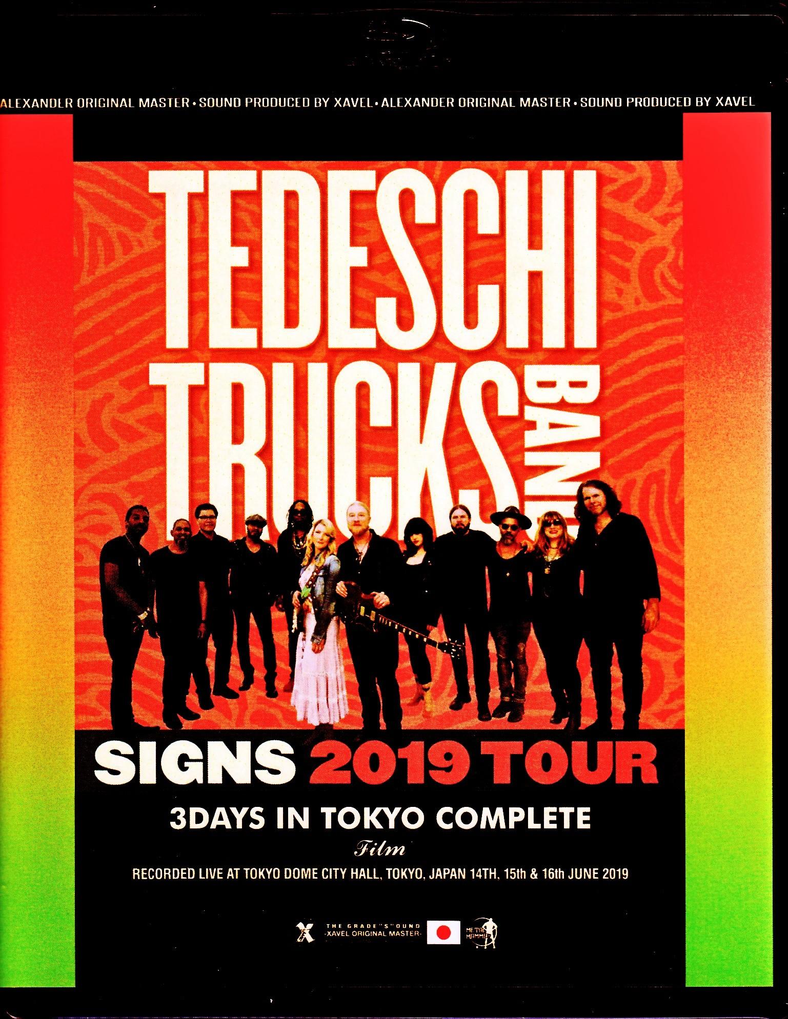 Tedeschi Trucks Band テデスキ・トラックス・バンド/Tokyo,Japan 2019 3 Days Complete Blu-Ray Ver.