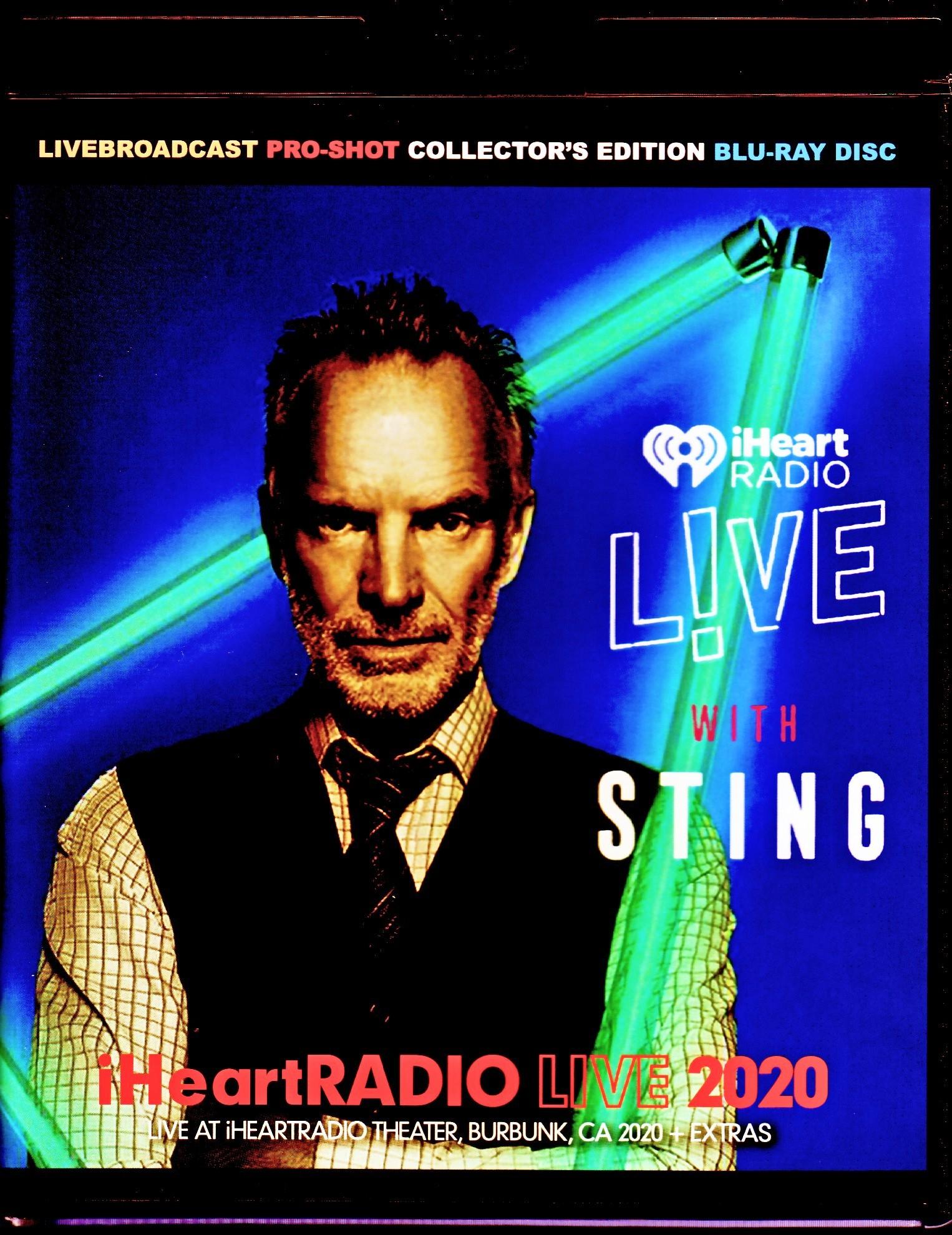 Sting スティング/CA,USA 2020 & more Blu-Ray Version