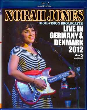Norah Jones ノラ・ジョーンズ/Germany 2012 & more Blu-Ray Version