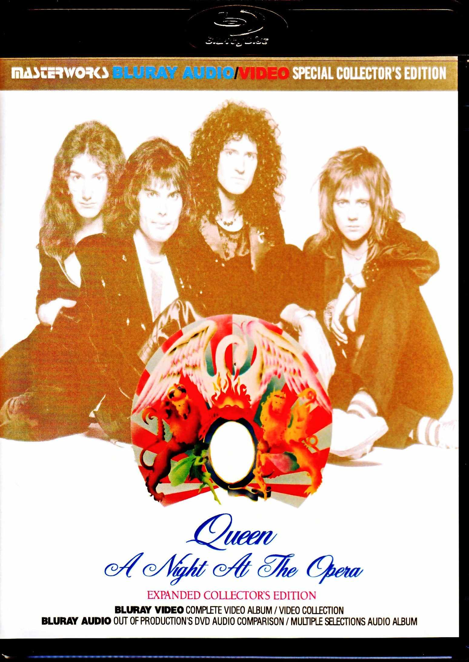 Queen クィーン/オペラ座の夜 A Night at the Opera Blu-Ray Expanded Collector's Edition