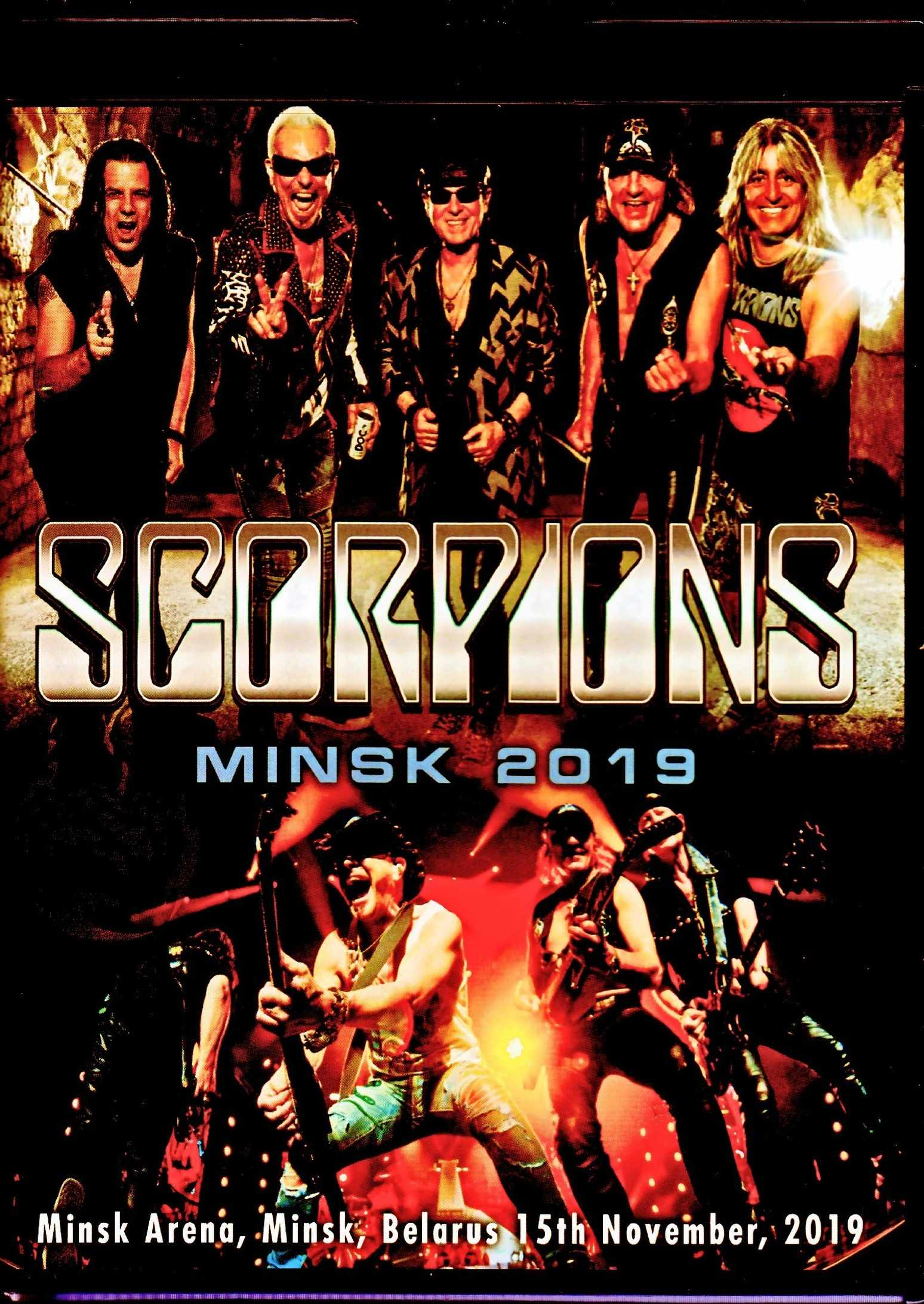 Scorpions スコーピオンズ/Belarus 2019 & more Blu-Ray Version