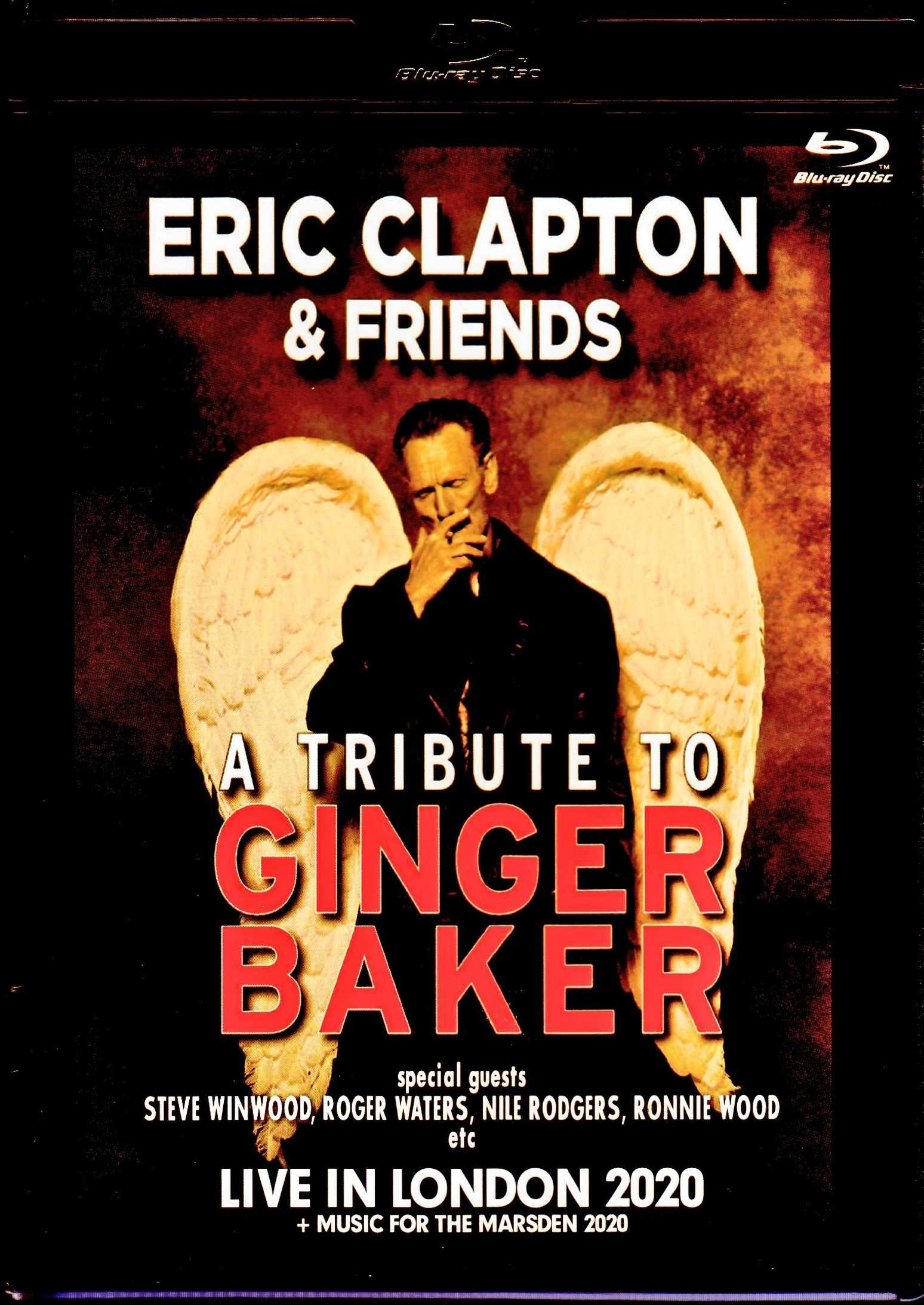 Various Artists Eric Clapton,Steve Winwood,Nile Rodgers,Roger Waters/London,UK 2020 & more Multi Cam Blu-Ray Version
