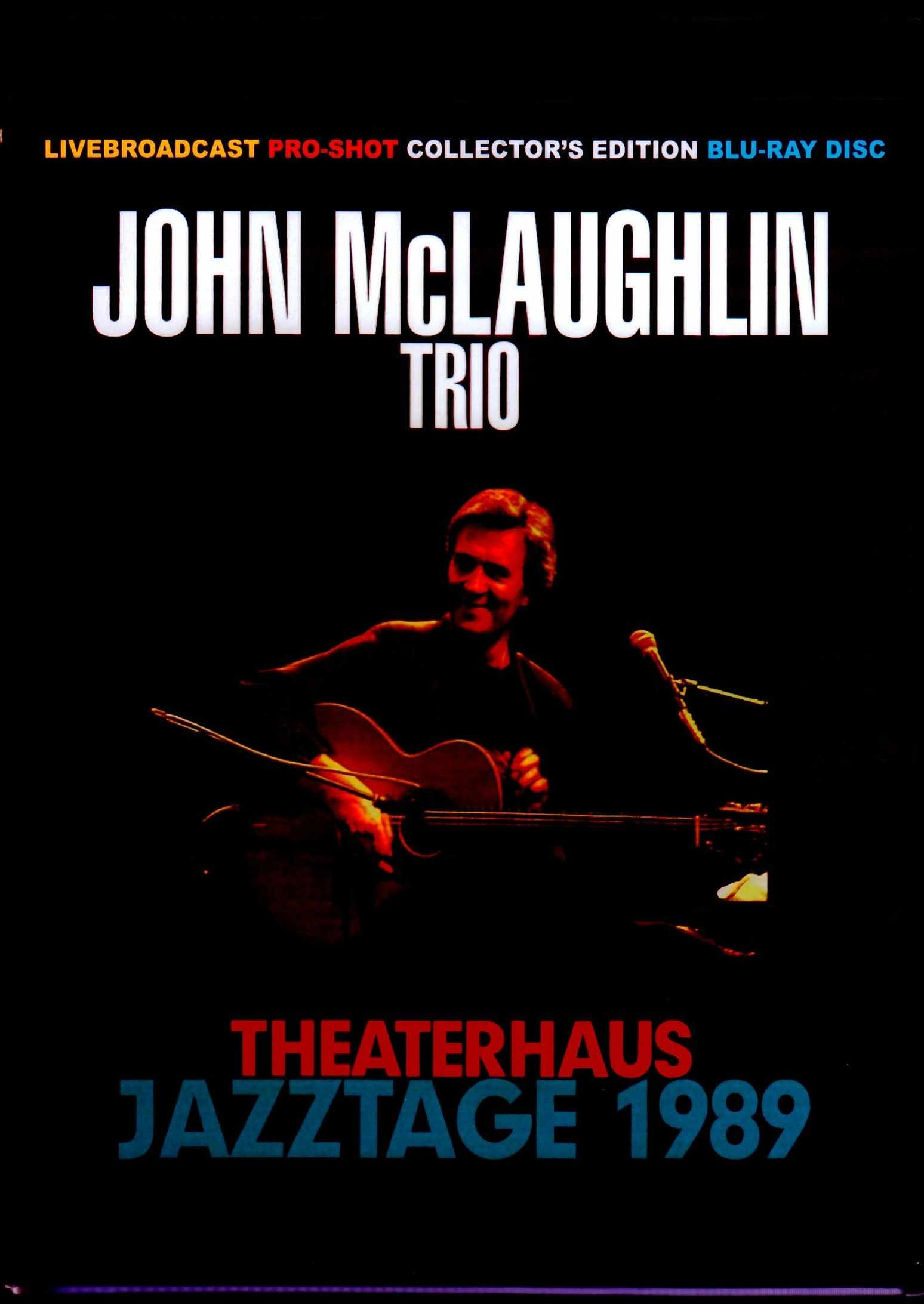 John McLaughlin Trio ジョン・マクラフリン/Germany 1989 Blu-Ray Version