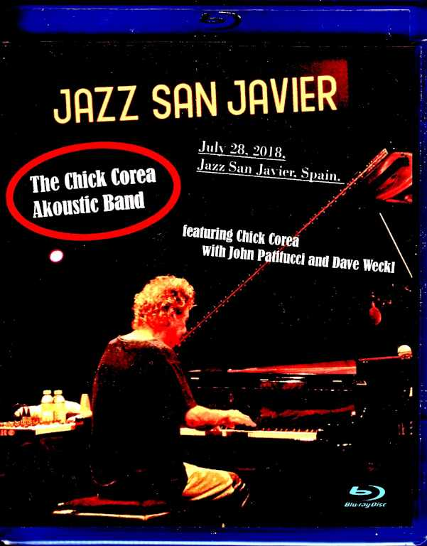 Chick Corea Akoustic Band チック・コリア/Spain 2018 Blu-Ray Version