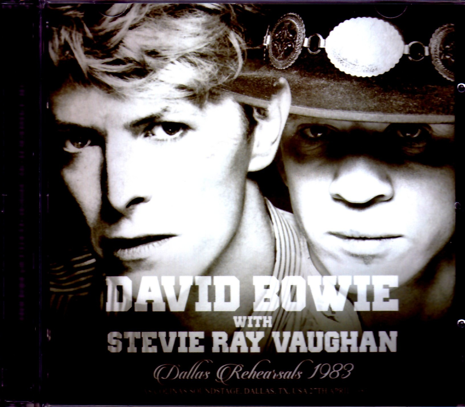 David Bowie,Stevie Ray Vaughan デヴィッド・ボウイ/TX,USA 1983 Rehearsals Upgrade