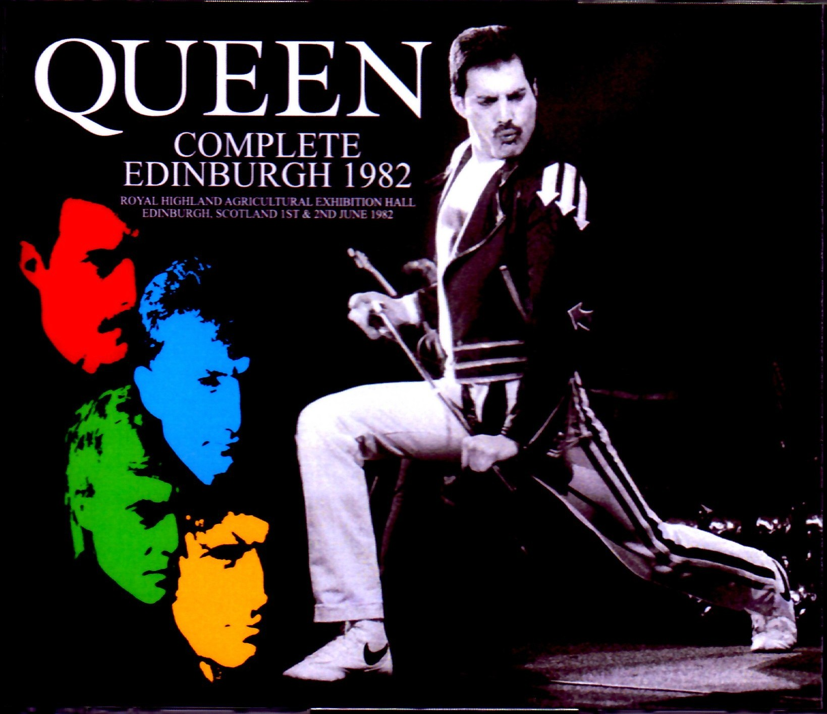 Queen クィーン/Scotland,UK 1982 2 Days Complete
