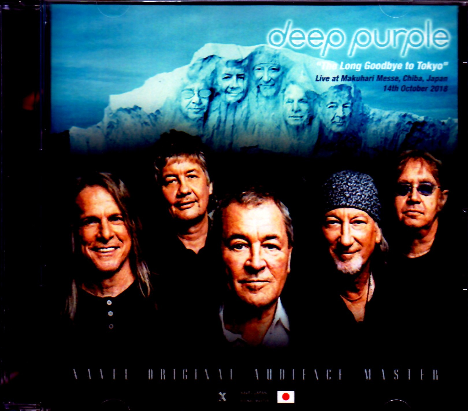 Deep Purple ディープ・パープル/Chiba,Japan 2018 Another Seat Ver.