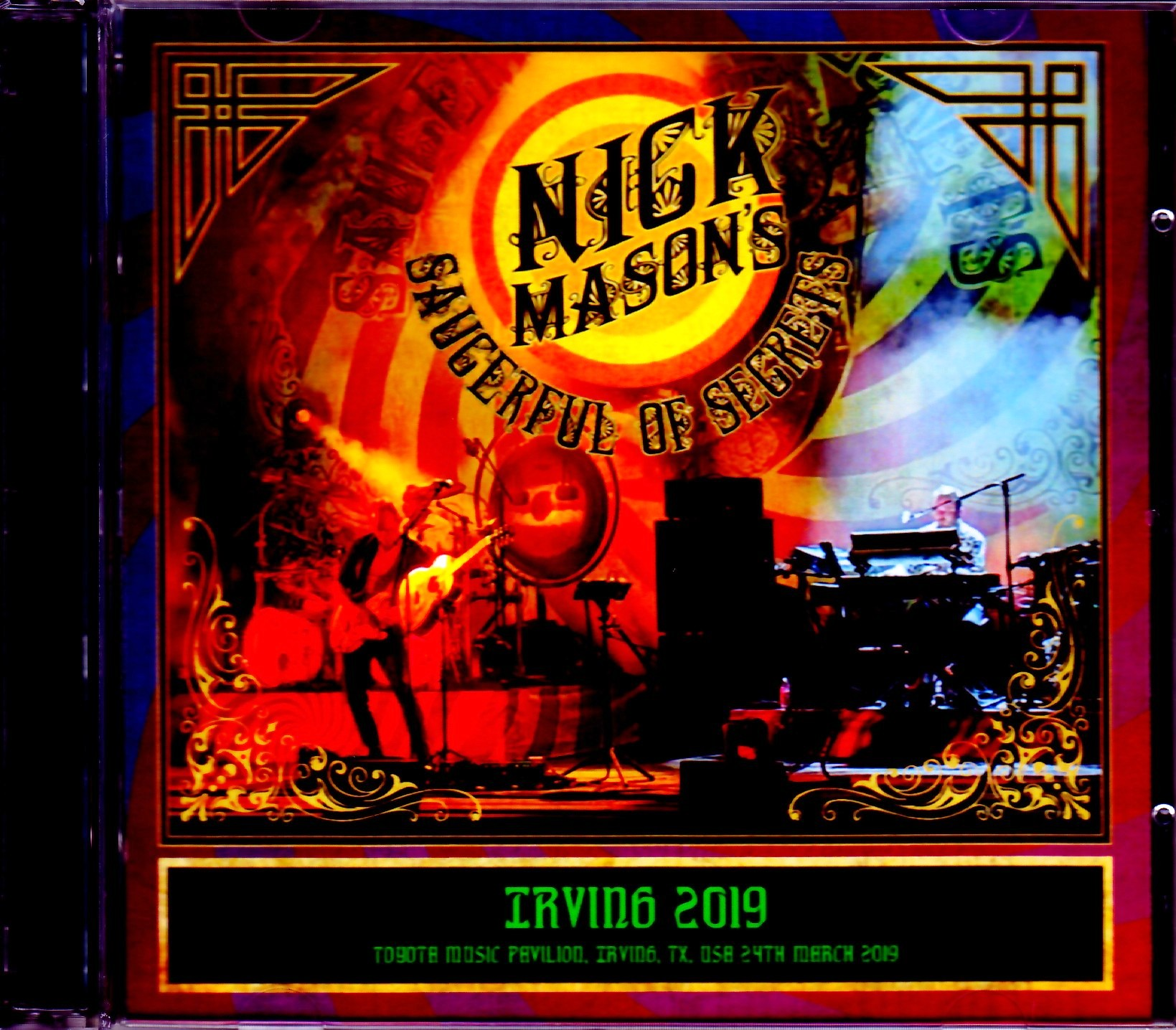 Nick Mason's Saucerful of Secrets ニック・メイスン/TX,USA 2019