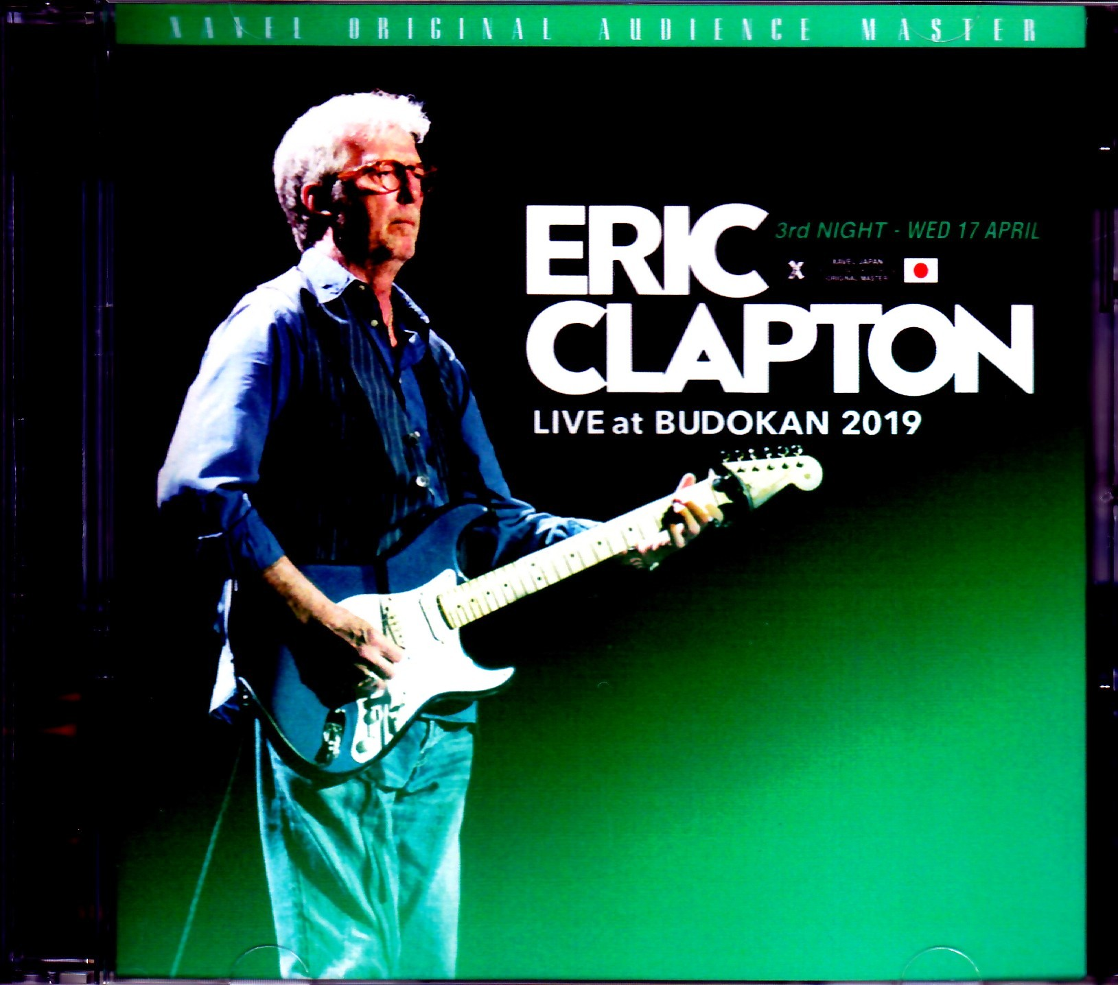 Eric Clapton エリック・クラプトン/Tokyo,Japan 4.17.2019 Omnidirectional Microphone