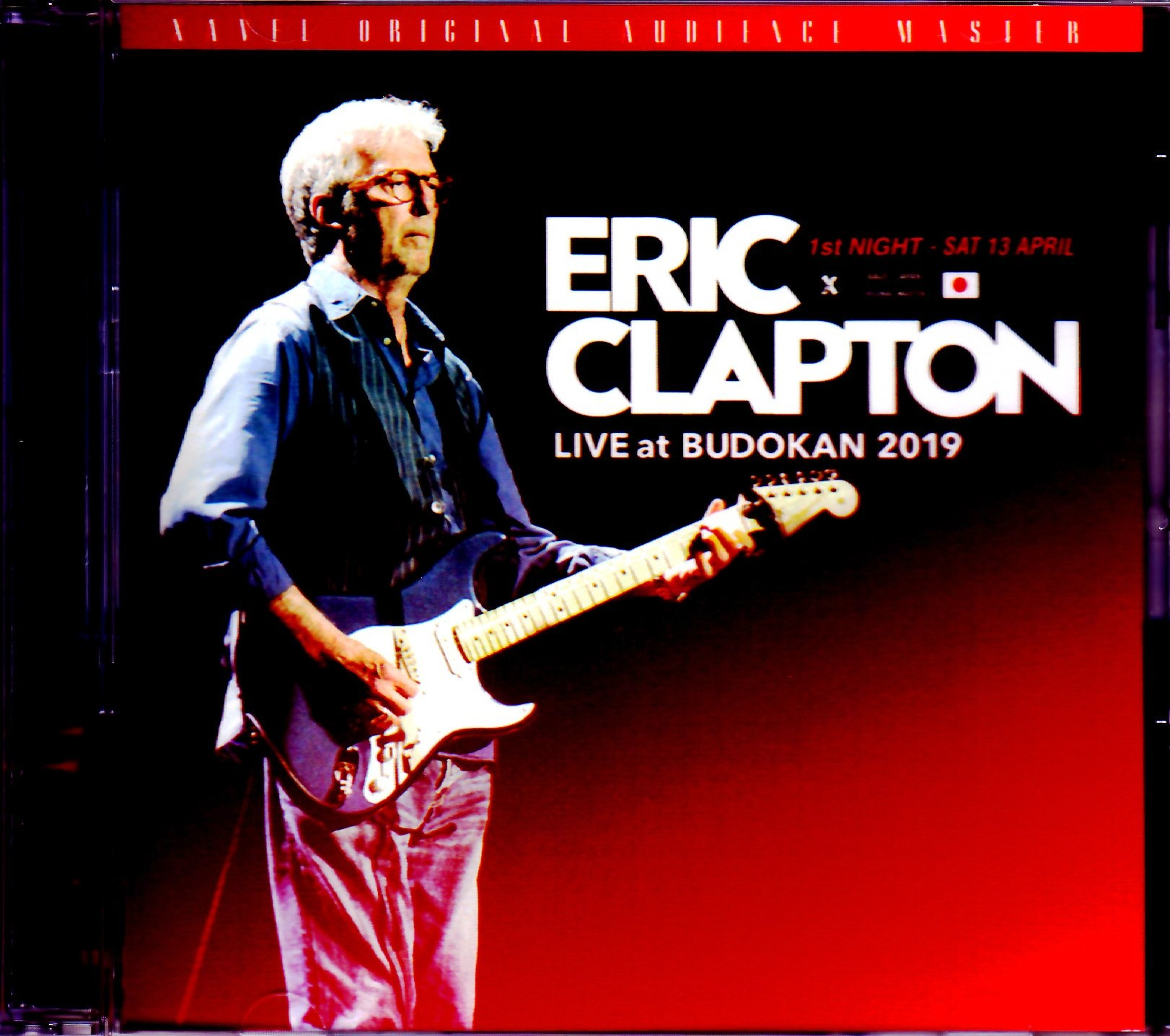 Eric Clapton エリック・クラプトン/Tokyo,Japan 4.13.2019 Omnidirectional Microphone