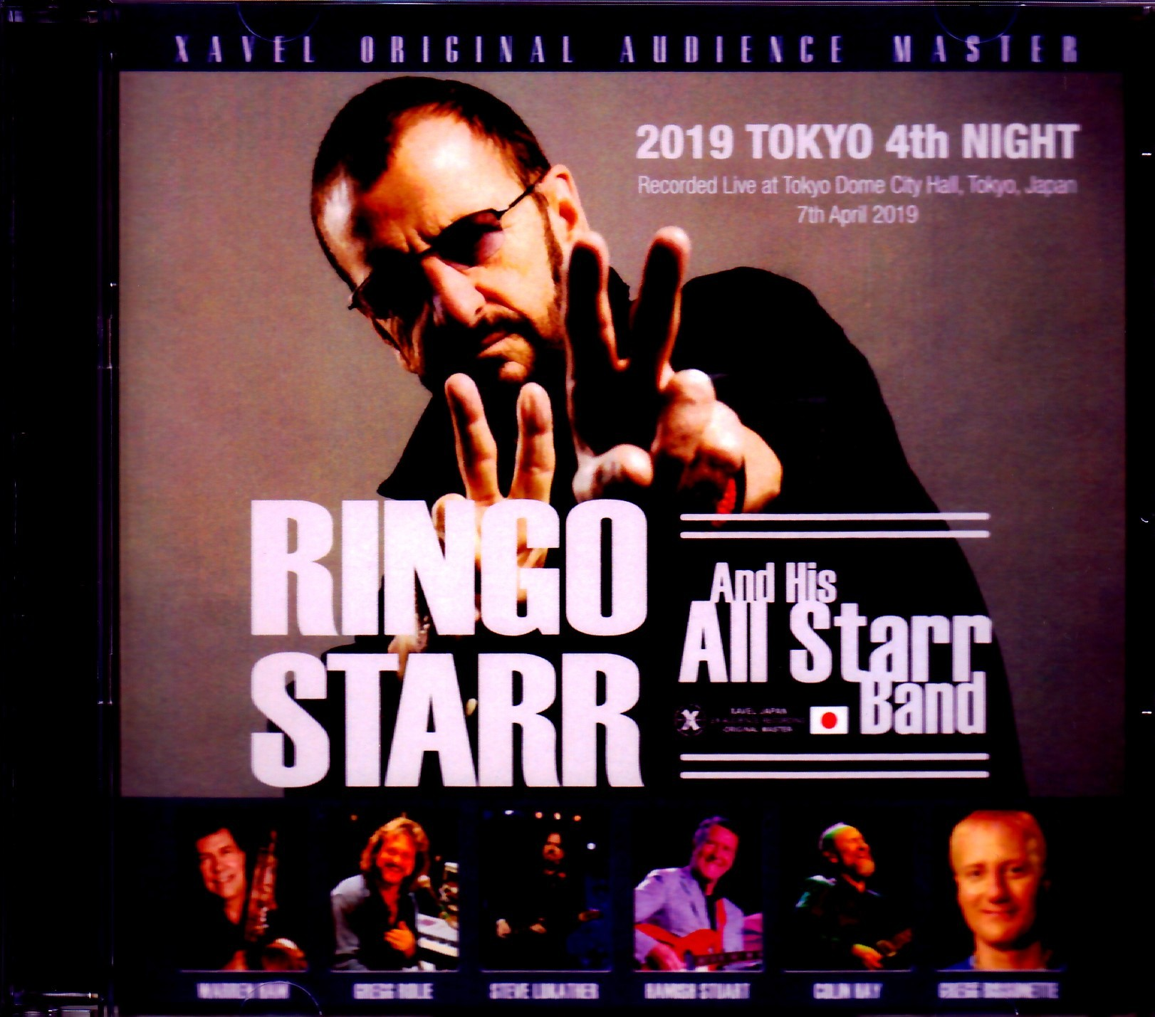 Ringo Starr and His All Starr Band リンゴ・スター/Tokyo,Japan 4.7.2019 High-End Mic Rec. Ver.