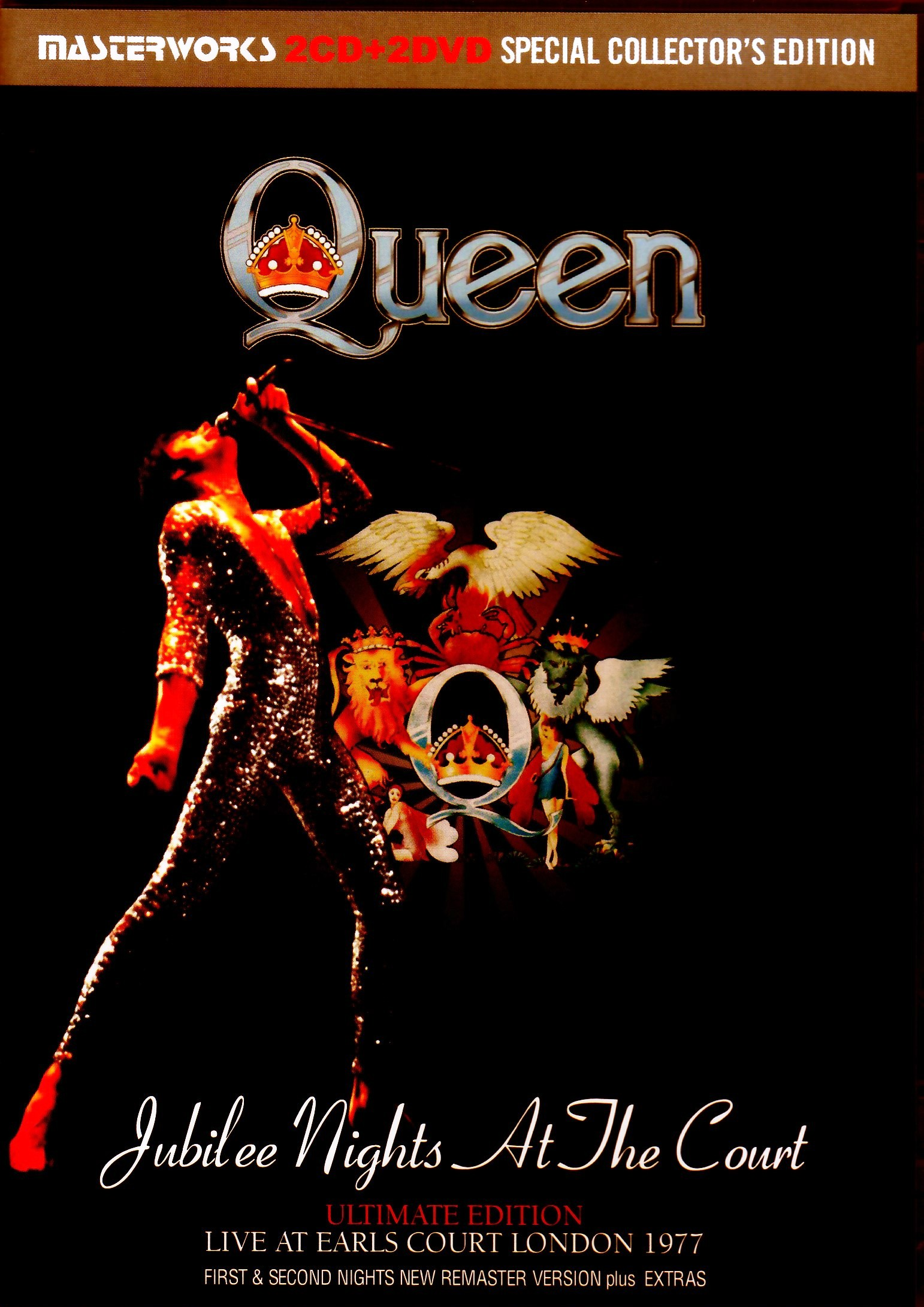 Queen クィーン/London,UK 1977First & Second Nights New Remaster Ver. & Extras