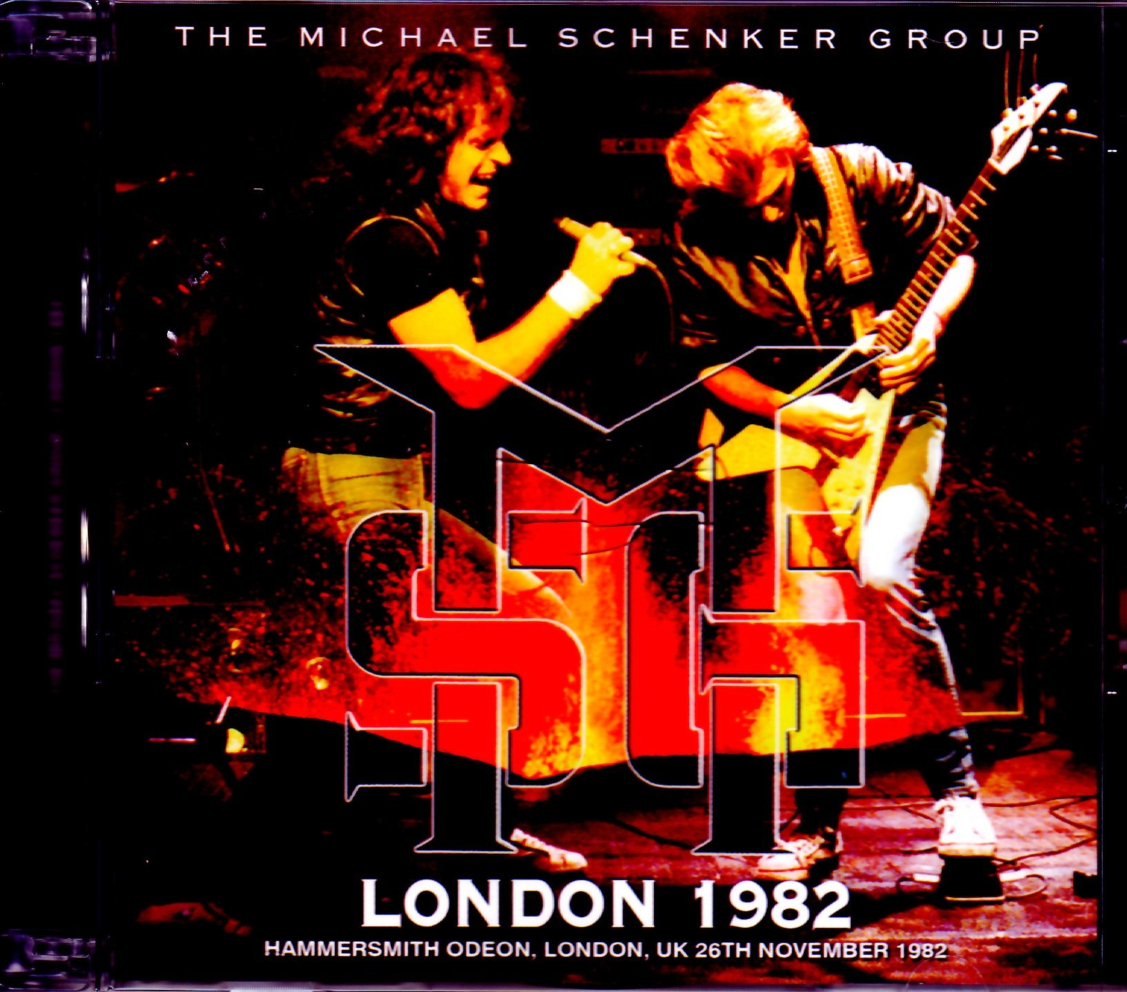Michael Schenker Group マイケル・シェンカー/London,UK 1982