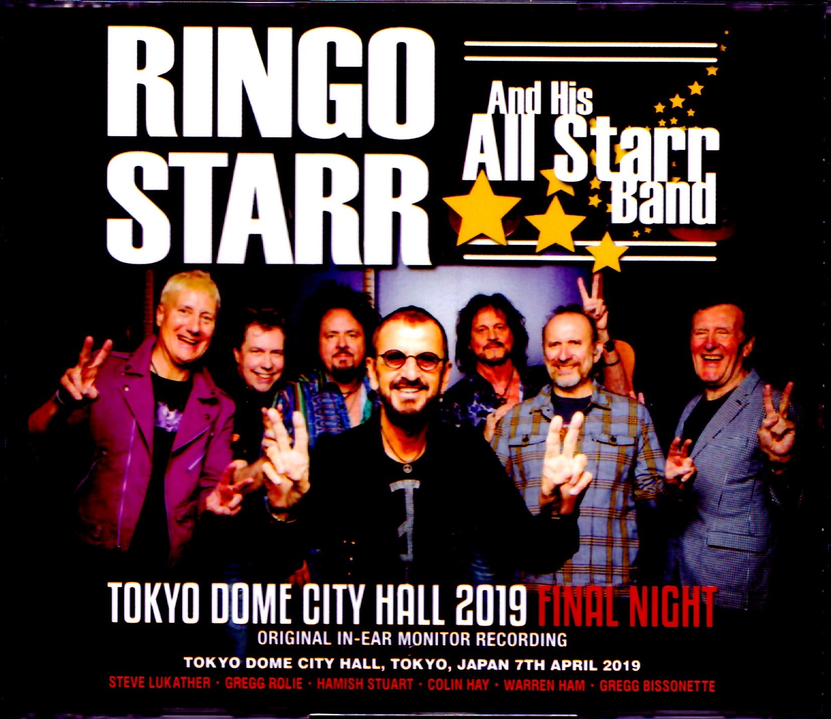 Ringo Starr and His All Starr Band リンゴ・スター/Tokyo,Japan 4.7.2019 & SC IEM Matrix Ver.