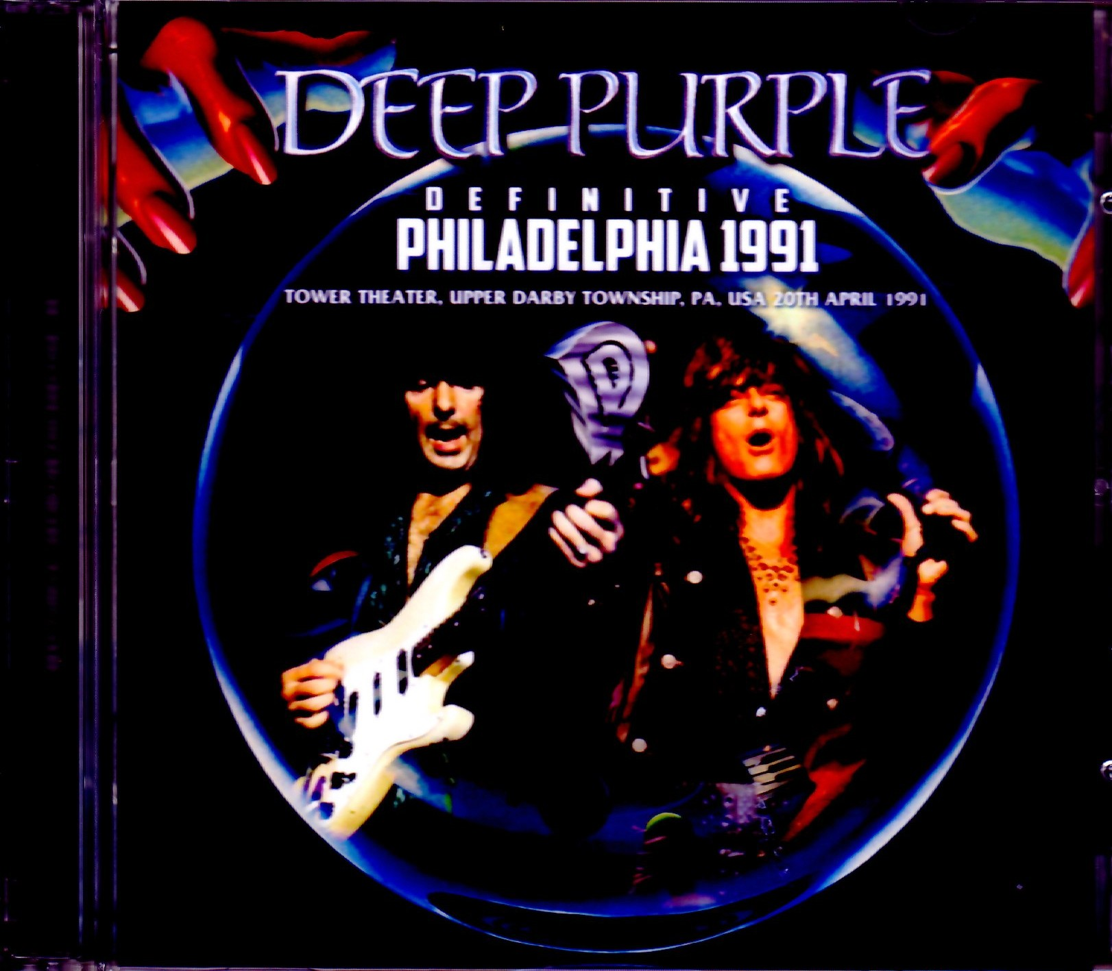 Deep Purple ディープ・パープル/PA,USA 1991 Upgrade
