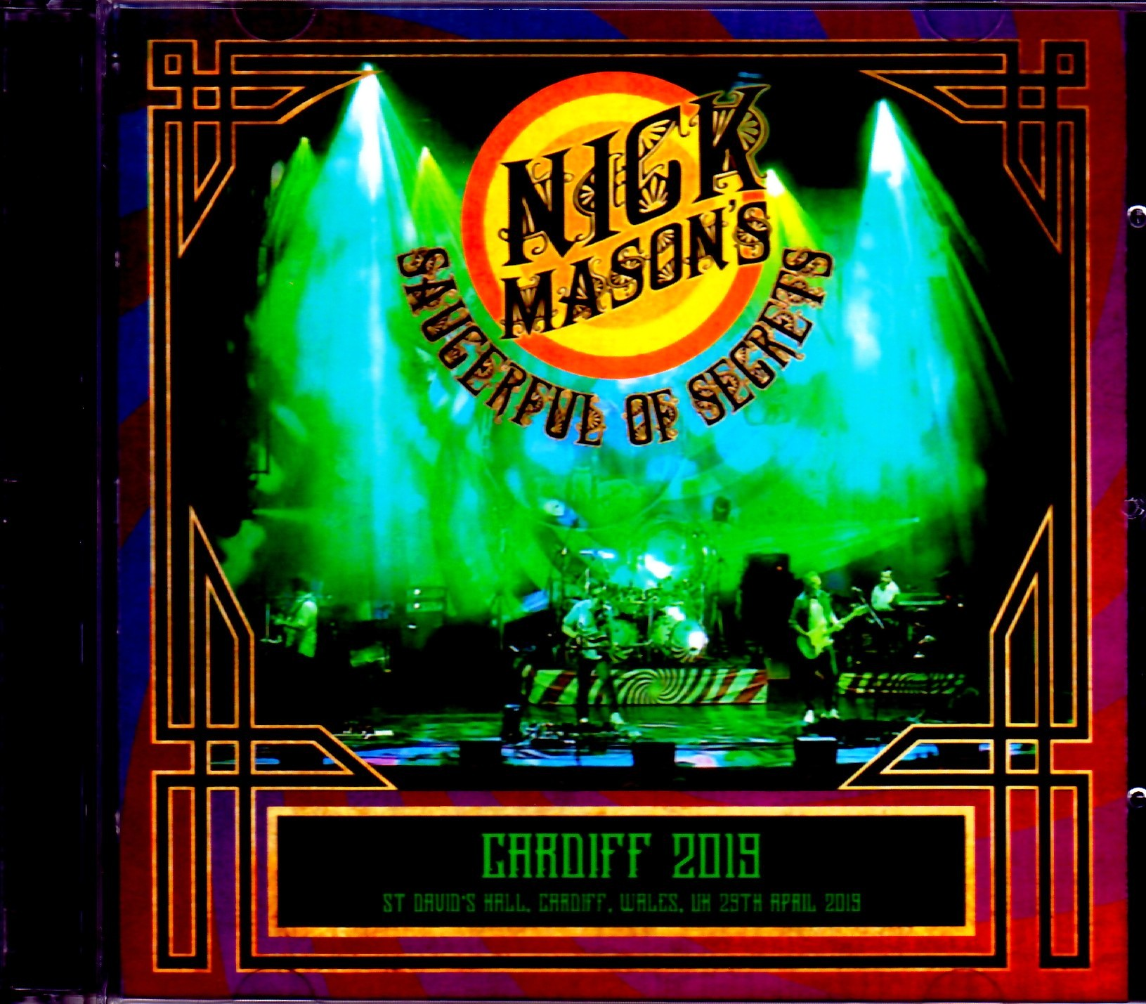 Nick Mason's Saucerful of Secrets ニック・メイスン/Cardiff,UK 2019