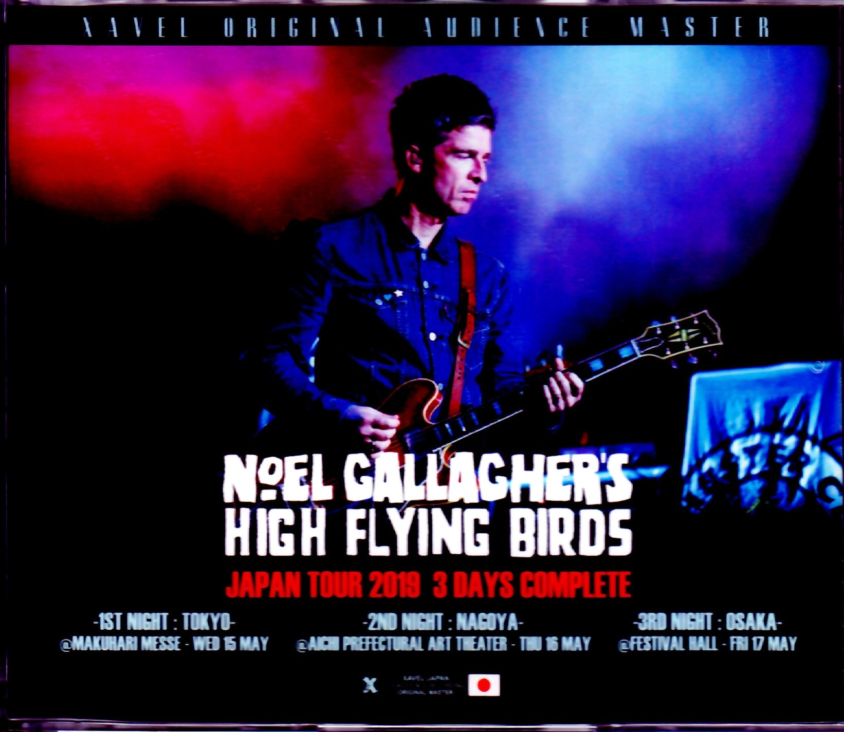 Noel Gallagher's High Flying Birds ノエル・ギャラガー/Japan Tour 2019 3 Days Complete