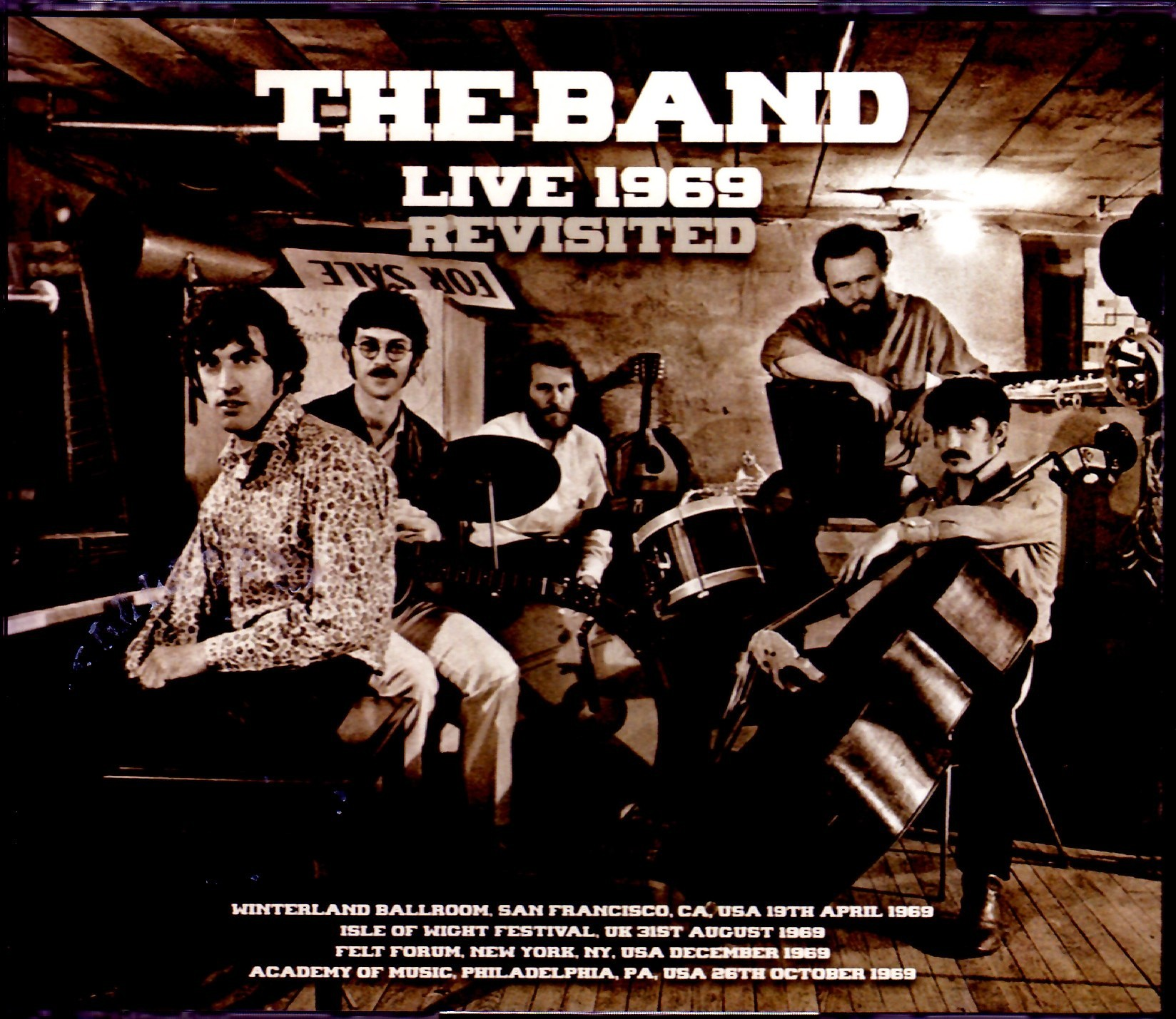 Band,The ザ・バンド/Live Compilation 1969 Upgrade