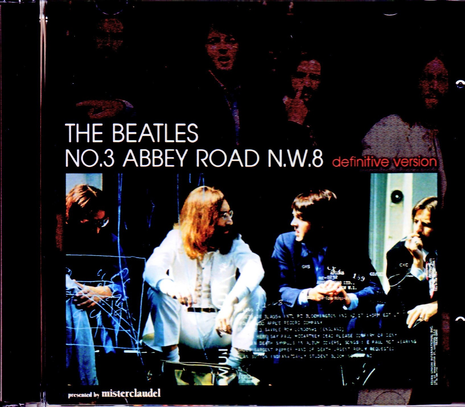 Beatles ビートルズ/No.3 Abbey Road N.W.8 Definitive Version